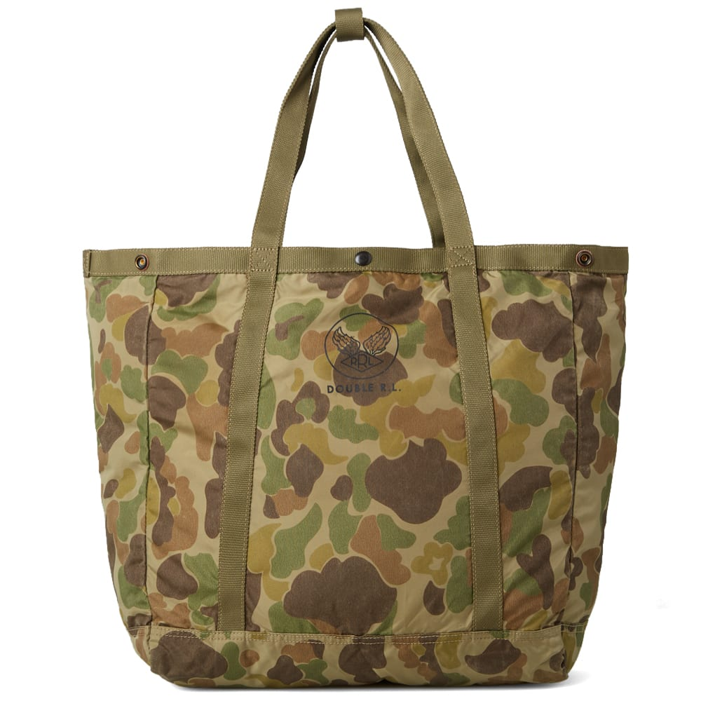 rrl packable murphy tote frog camo. Black Bedroom Furniture Sets. Home Design Ideas