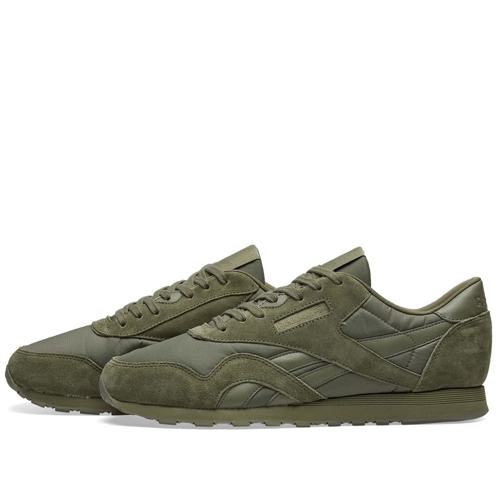 8ed112e5ca8bc Reebok Classic Nylon W Hunter Green