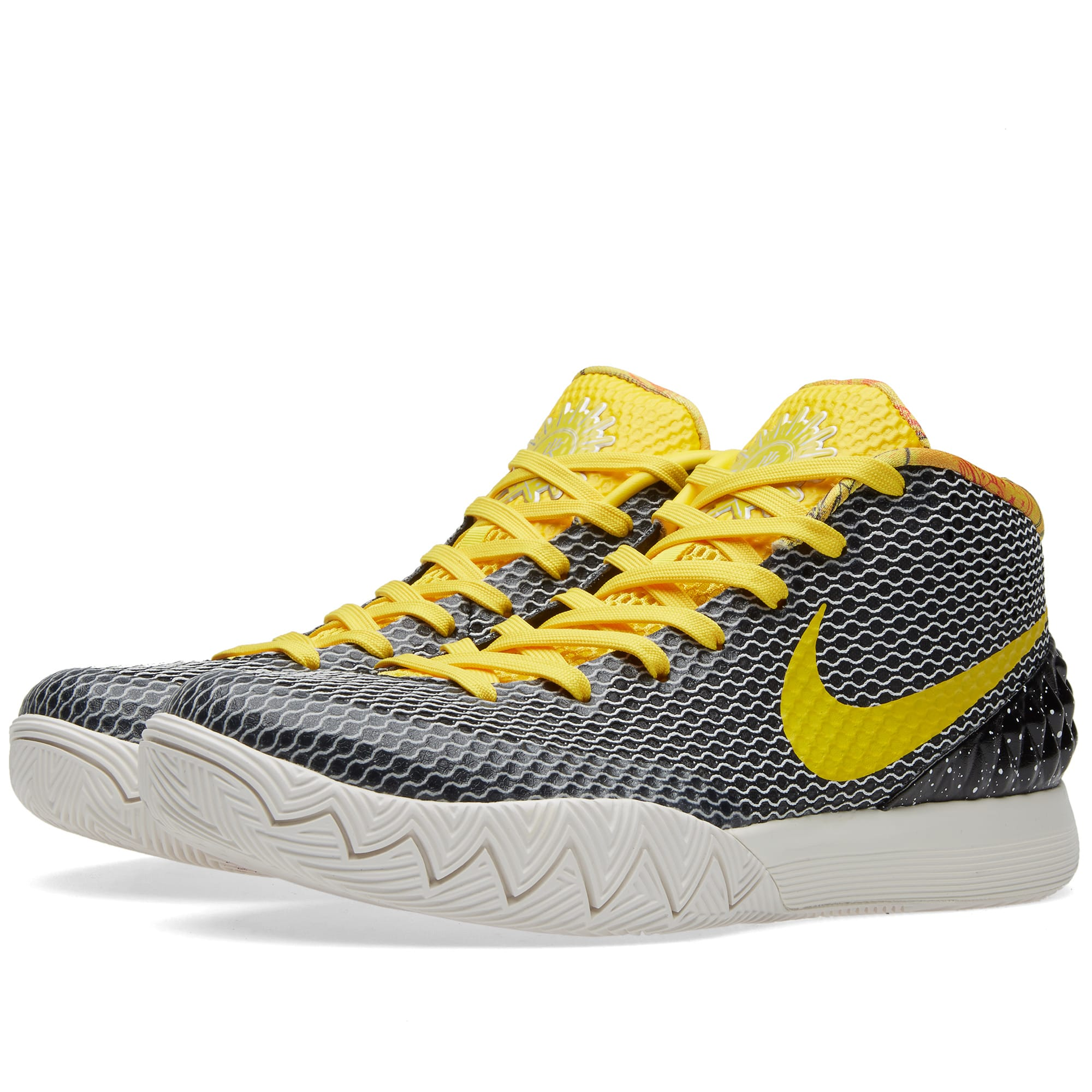 7148befc30b6 Nike Kyrie 1 LTD Black   Tour Yellow