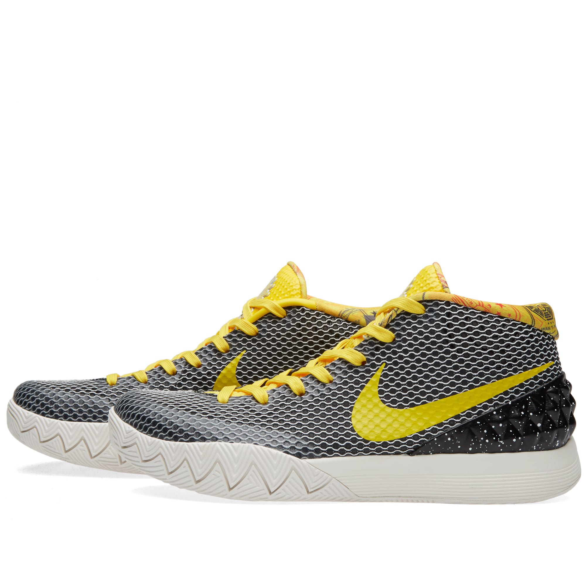 sneakers for cheap 93591 8fadd Nike Kyrie 1 LTD. Black   Tour Yellow