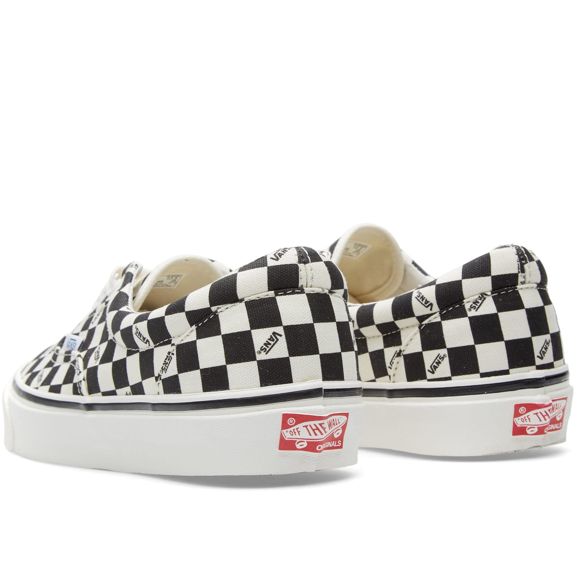 Vans Vault OG Era LX (Checkerboard Black)