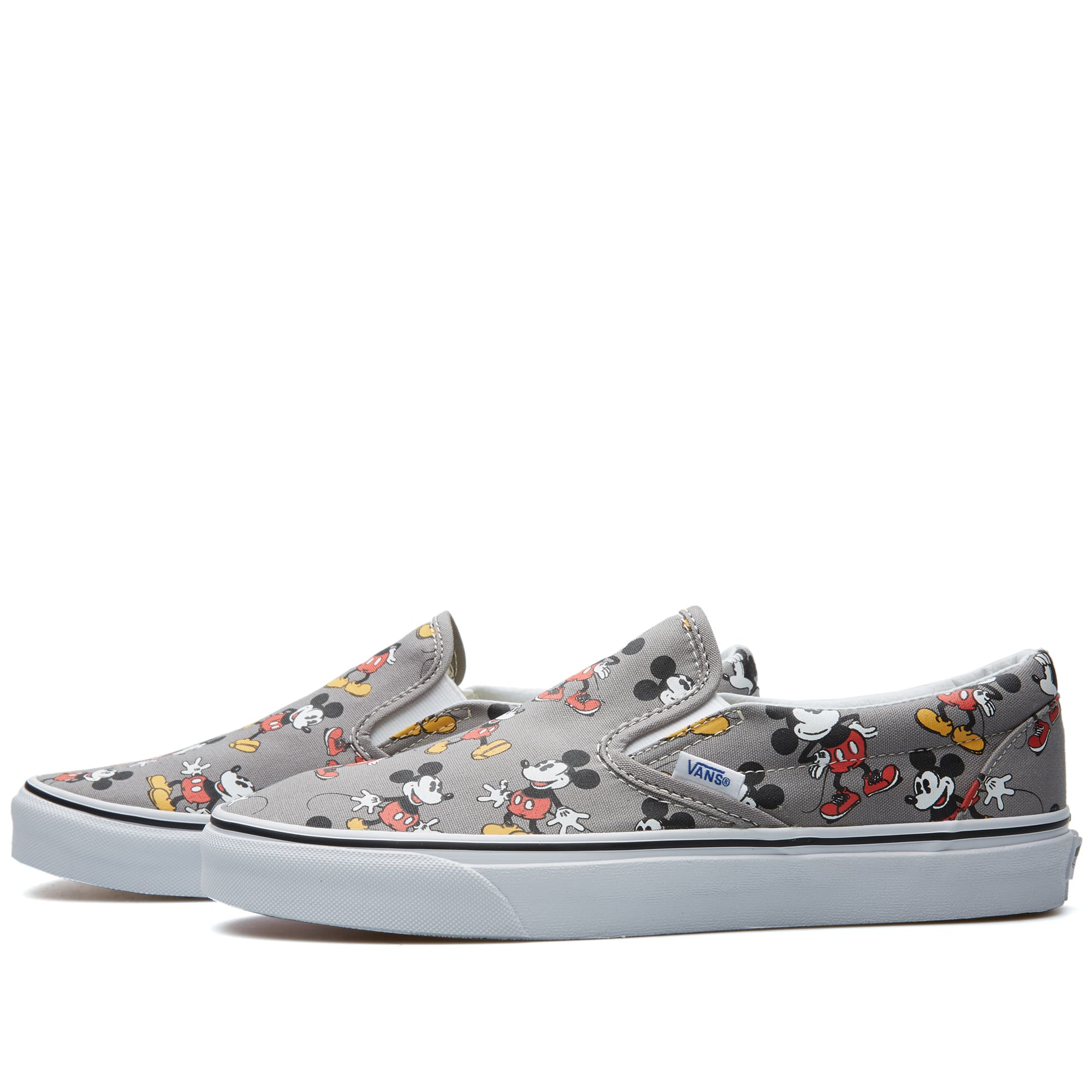 vans slip on mickey