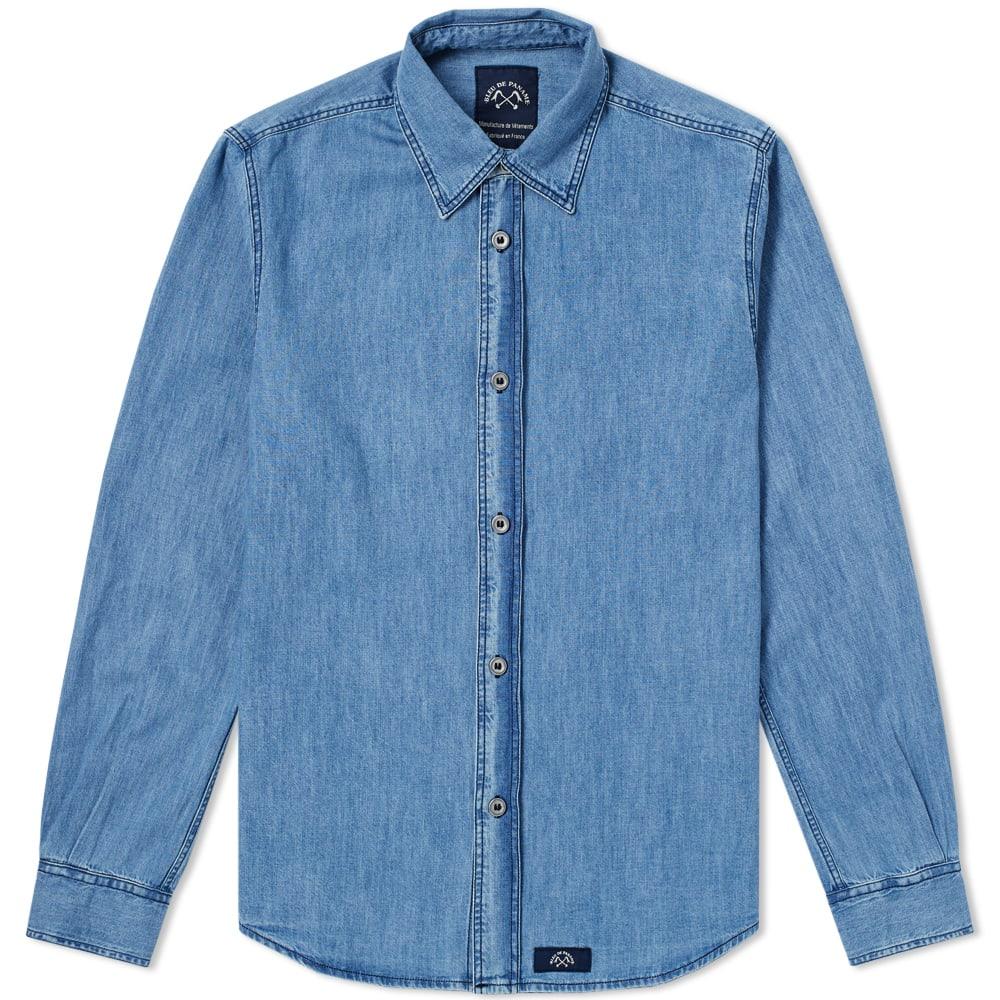 BLEU DE PANAME Bleu De Paname Standard Shirt in Blue