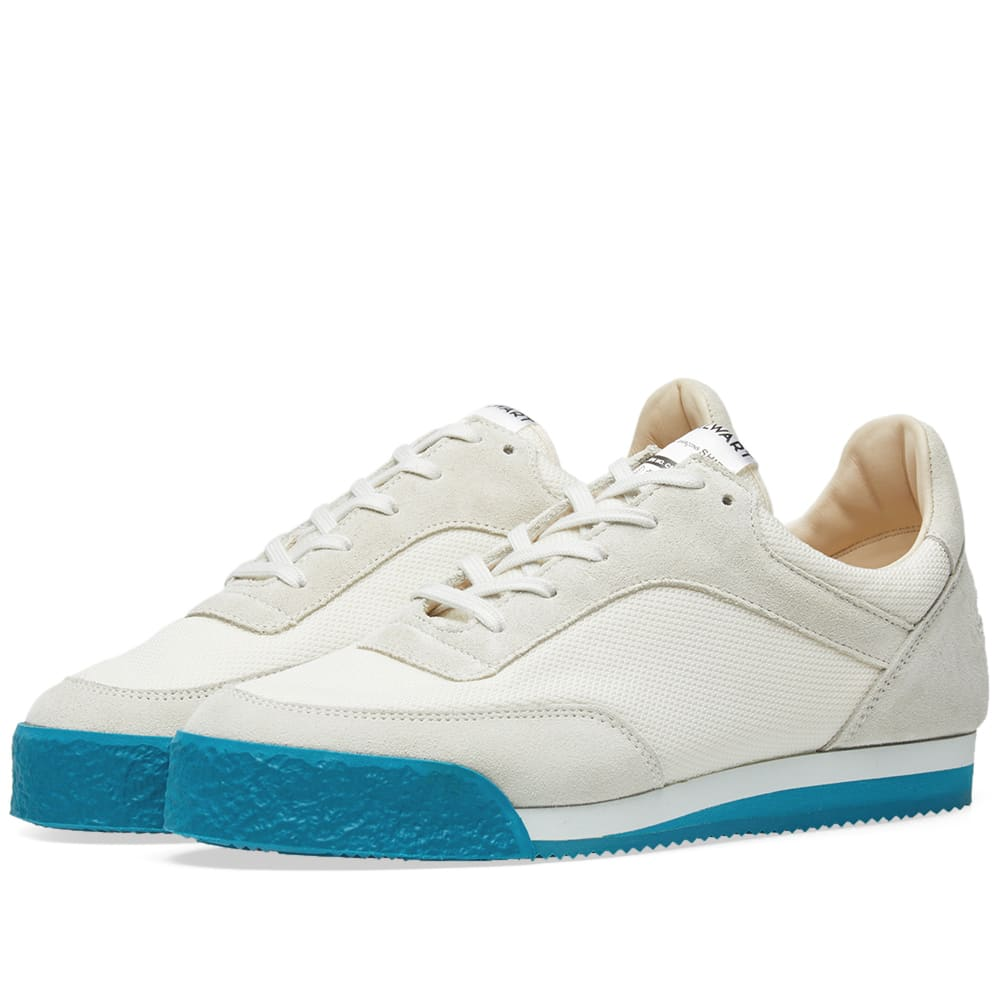b531096347453d Comme Des GarÇOns Shirt Comme Des Garcons Shirt White And Green Spalwart  Edition Pitch Sneakers