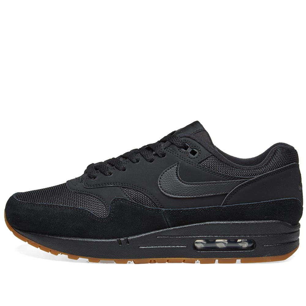quality design f5797 fafcb Nike Air Max 1 Black, Gum   Brown   END.