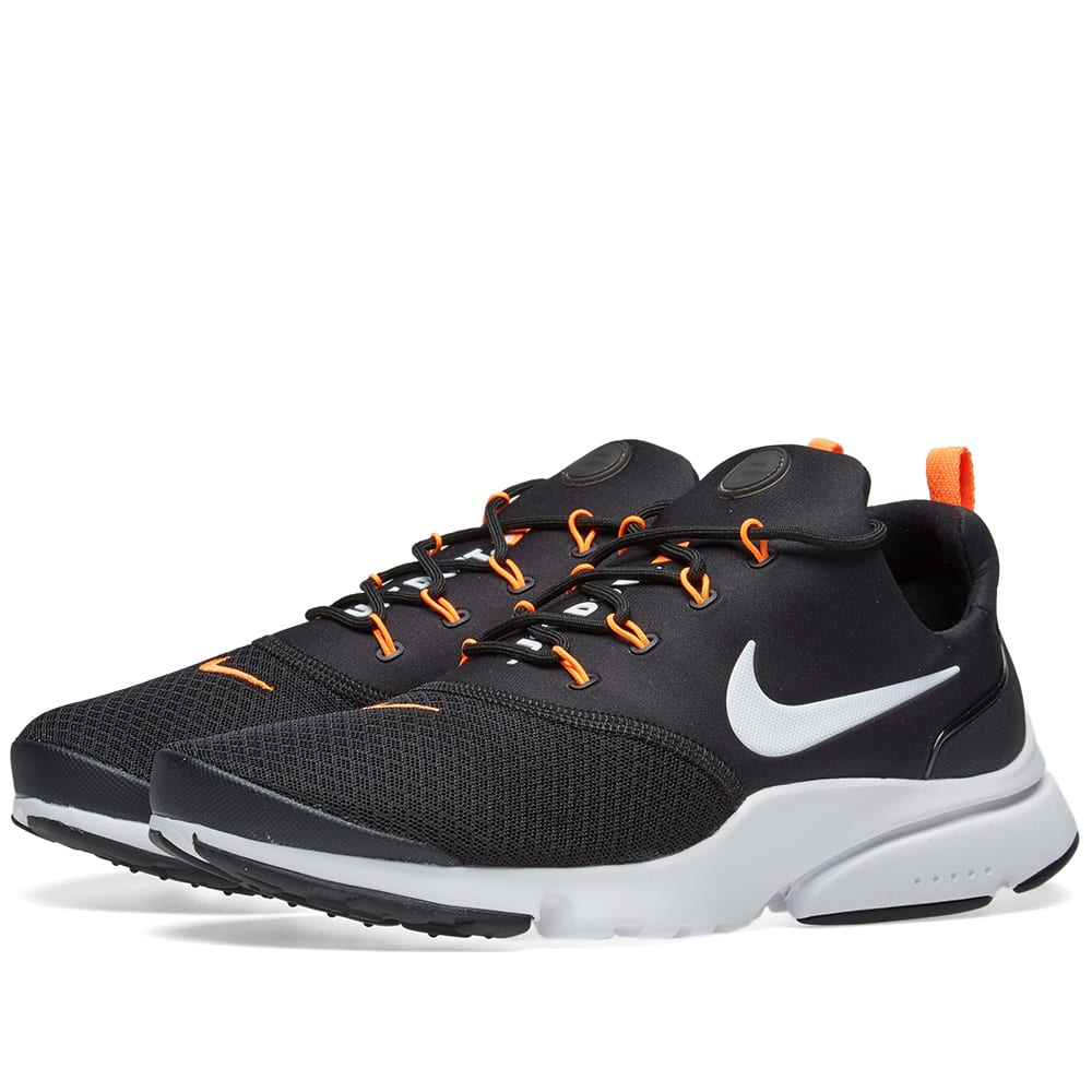 buy popular c70d8 1bed1 Nike Presto Fly JDI Black, White   Orange   END.