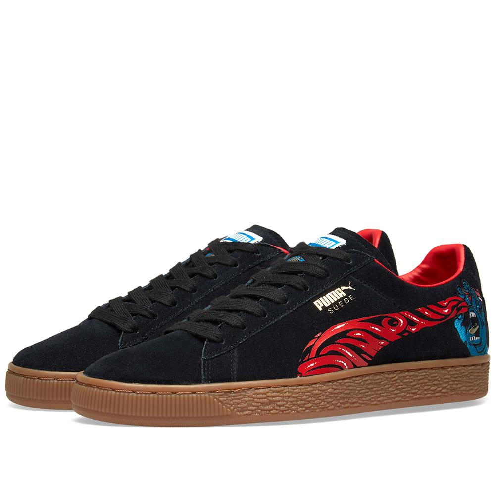 online store bc886 9fd51 Puma x Santa Cruz Suede