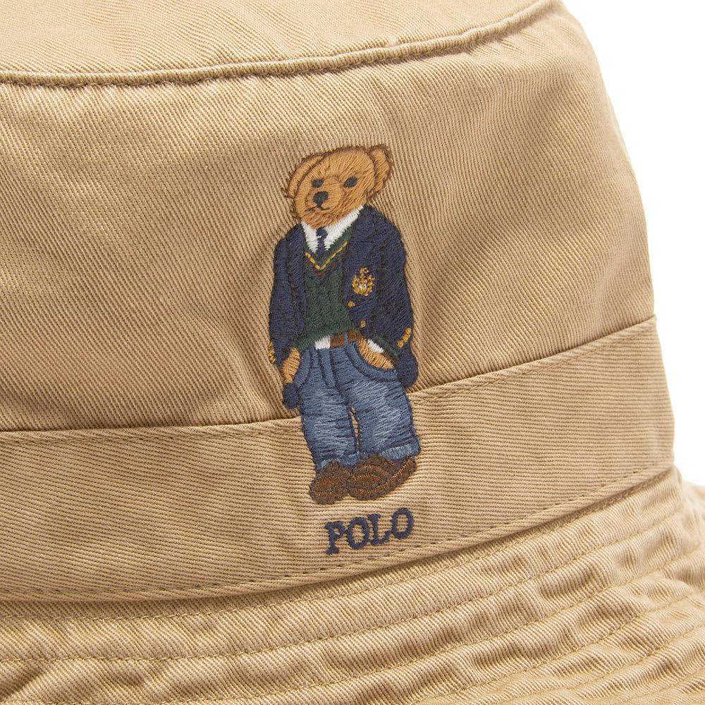 Ralph Lauren Bucket Polo Hat Embroidery Bear mnONw80v