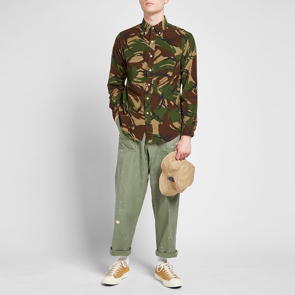 Lauren Ralph Camo Shirt Polo Corduroy WYb9e2EDHI
