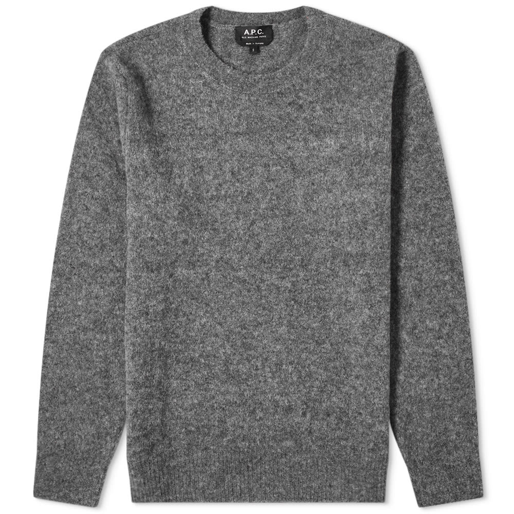 A.p.c. A.P.C. Diego Brushed Yak Wool Knit
