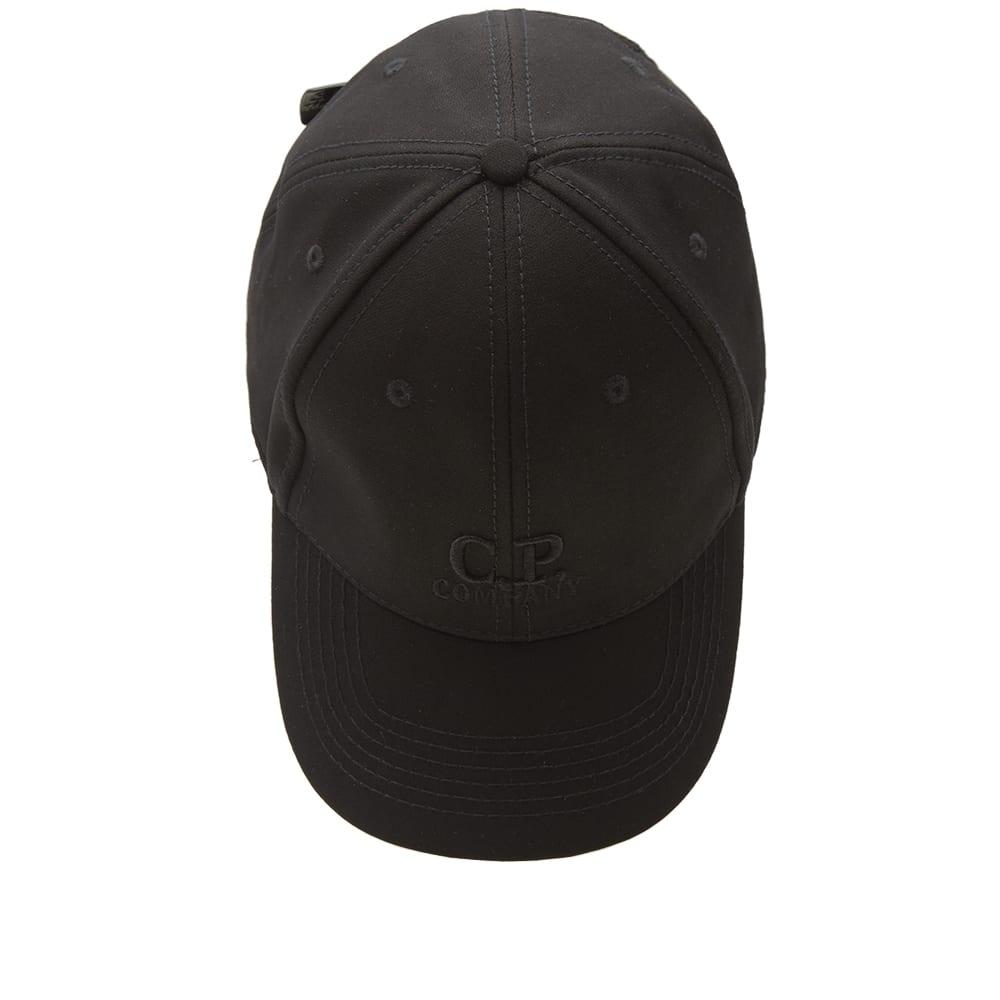 740fb2afabf C.P. Company Softshell Logo Cap Black