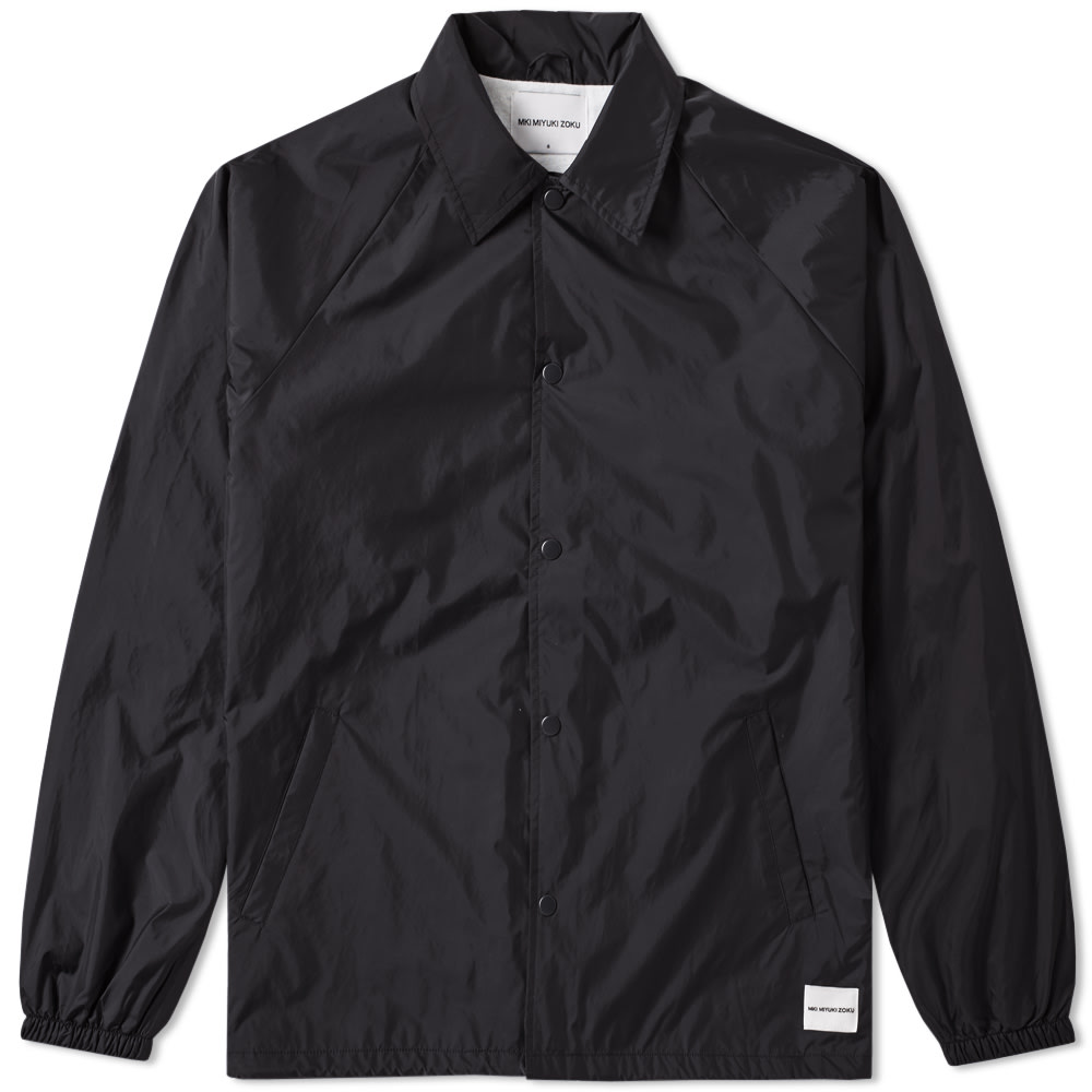 MKI Mki Plain Coach Jacket in Black