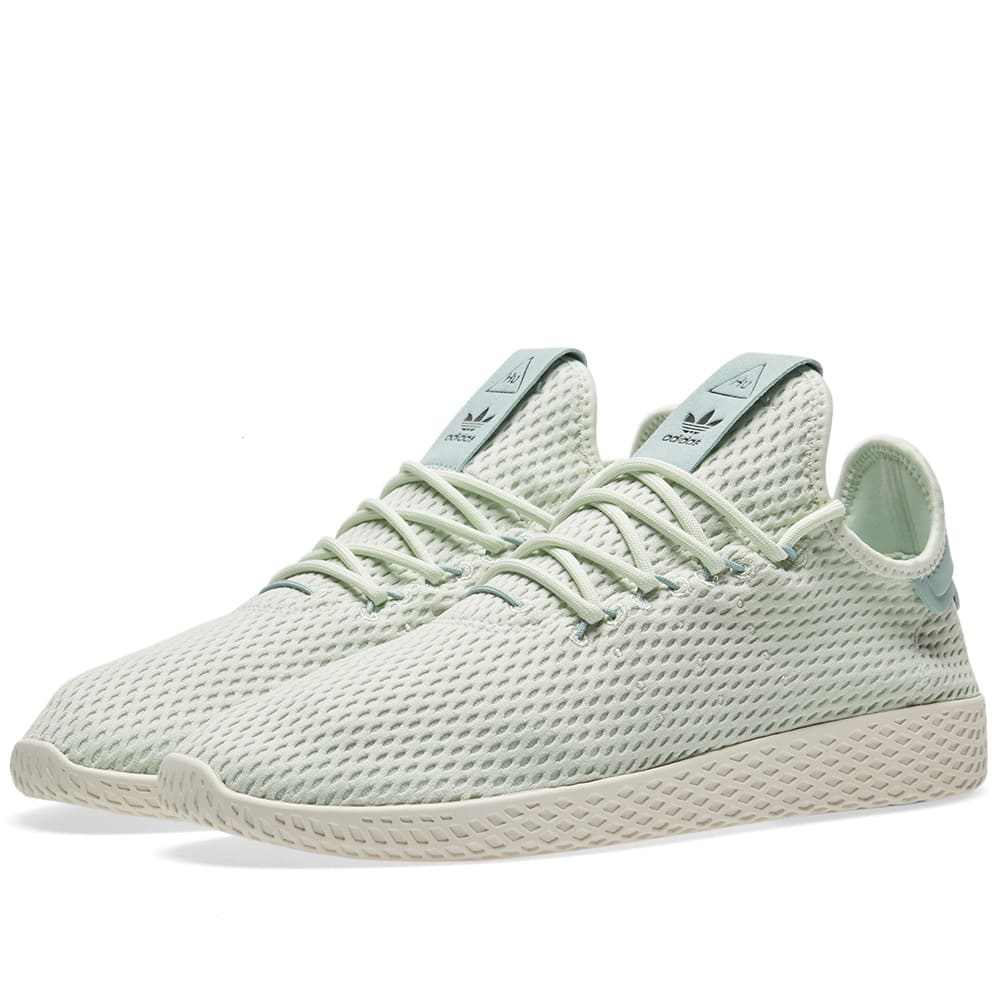 5a643c4e30164 Adidas x Pharrell Williams Tennis HU Linen Green