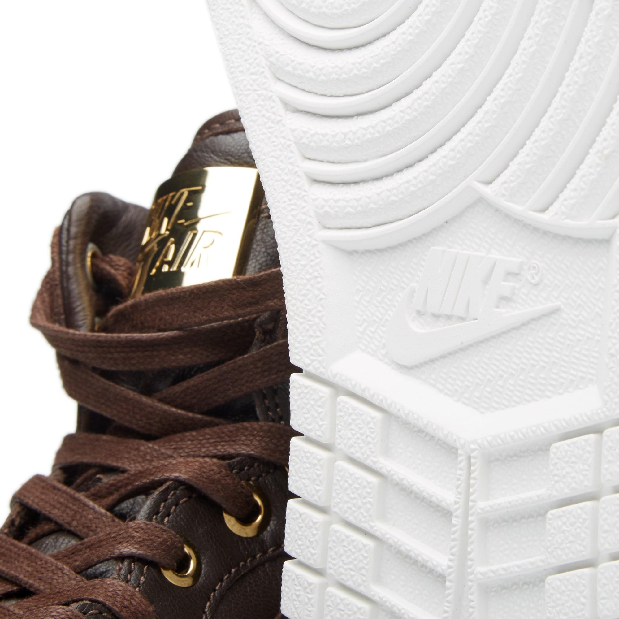 b702b1936f9947 Nike Air Jordan 1 Pinnacle Baroque Brown   Metallic Gold