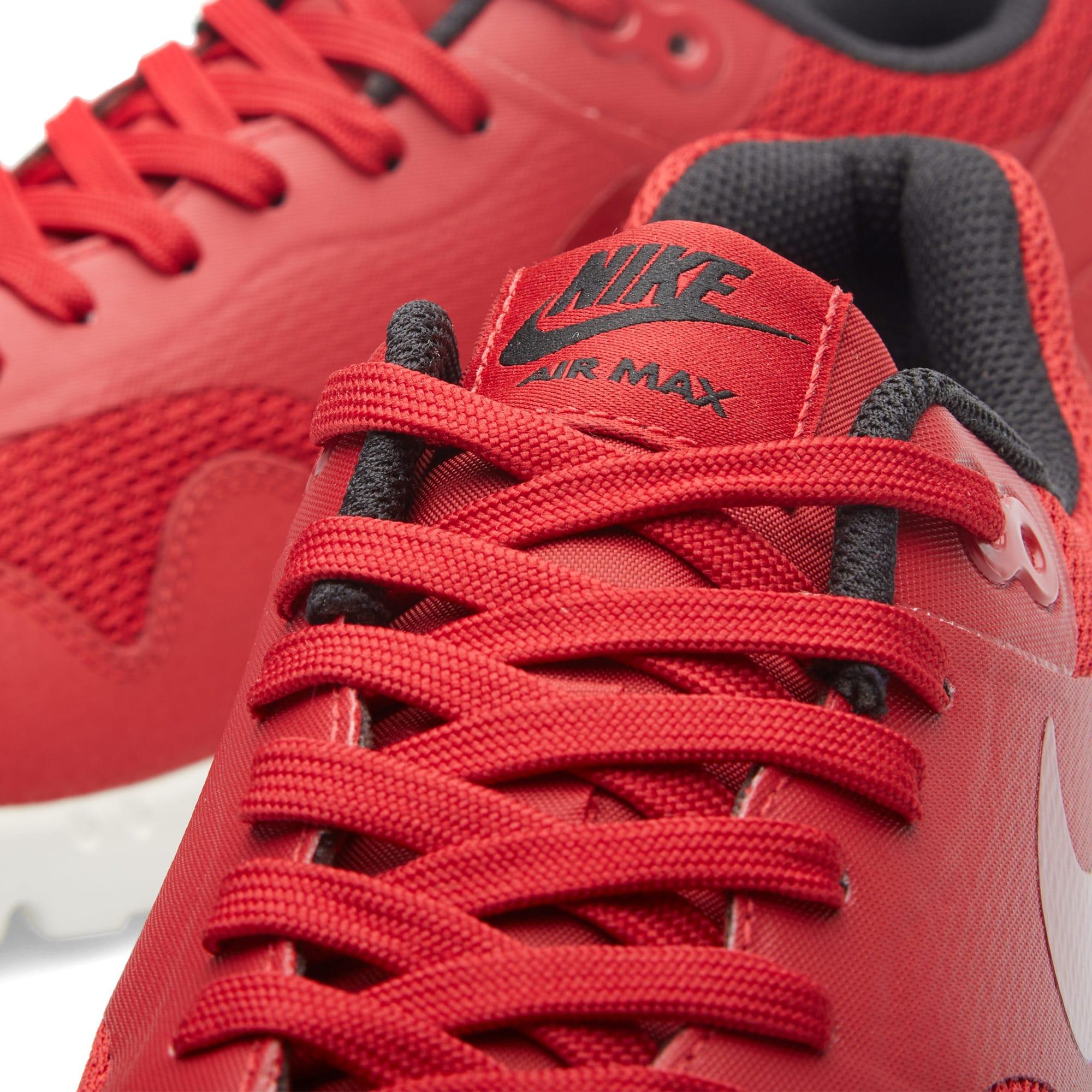 Nike Air Max 1 Ultra Moire Sail Gym Red Black W Essential