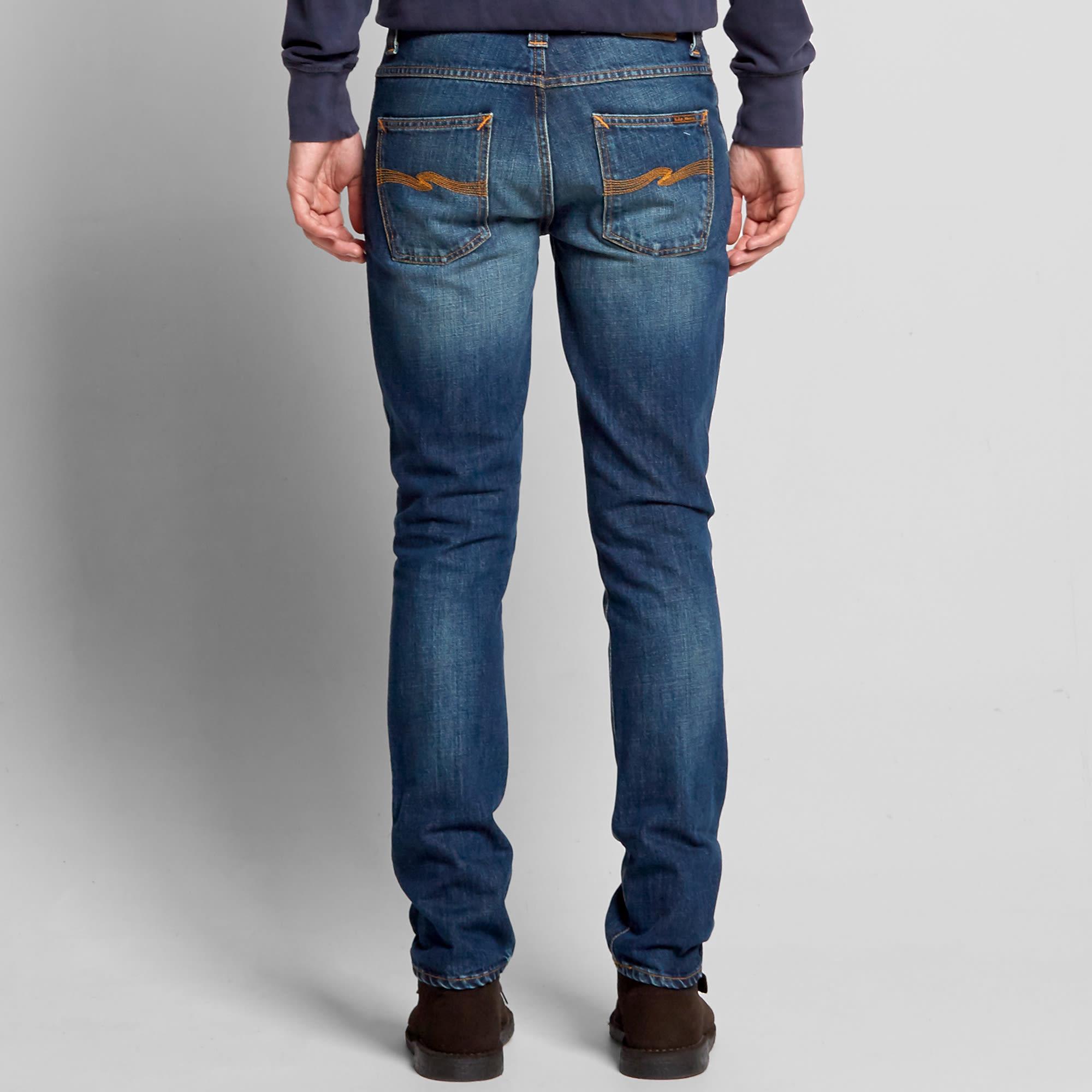 nudie grim tim jeans flat cross. Black Bedroom Furniture Sets. Home Design Ideas