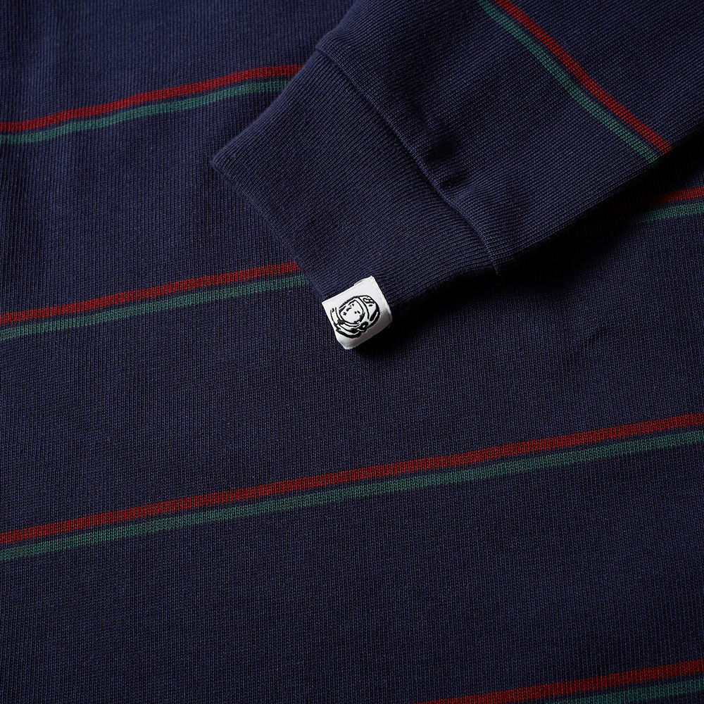 1d00ac4fa2b Billionaire Boys Club Long Sleeve Striped Pocket Tee Navy   END.