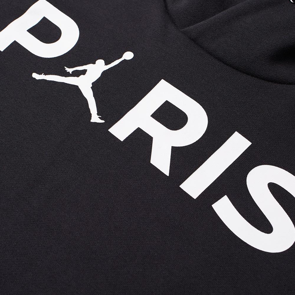 418b72913f94 Jordan x Paris Saint-Germain Hoody Black   White