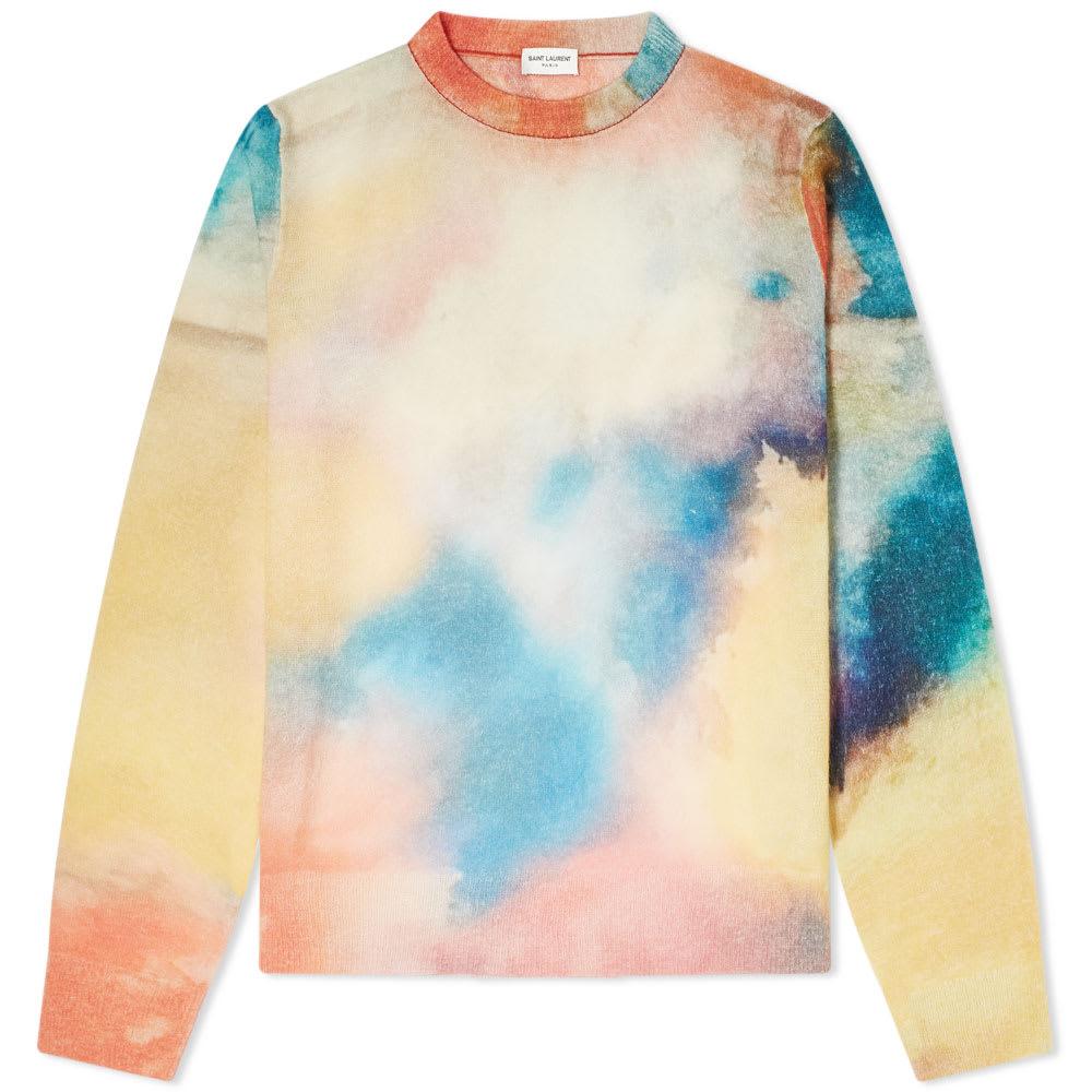 saint-laurent-water-coloured-mohair-knit by saint-laurent