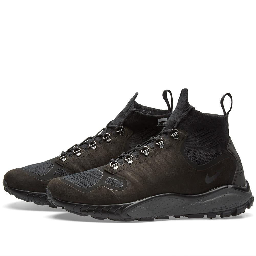 Por lo tanto precoz Inducir  Nike Zoom Talaria Mid Flyknit Black & Dark Grey   END.