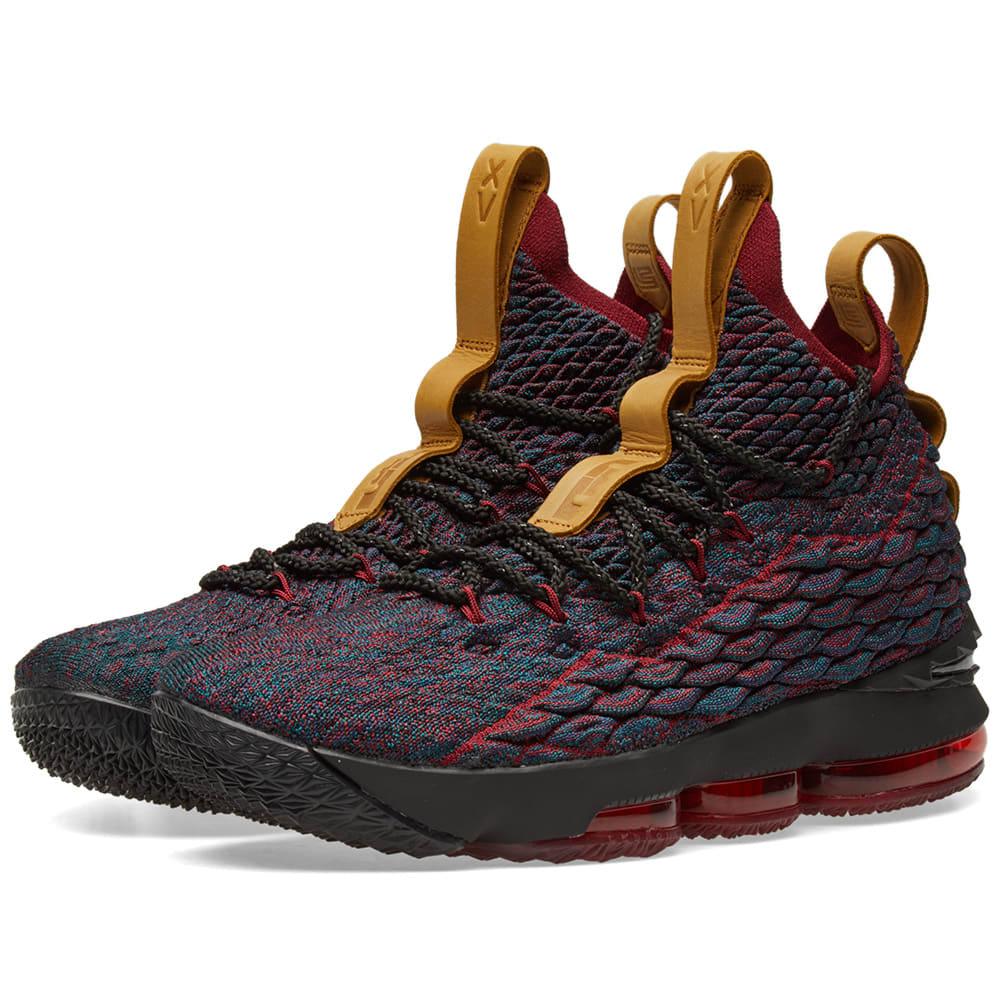 404ce61f2e1f Nike LeBron XV Multi Dark Atomic Teal   Ale Brown