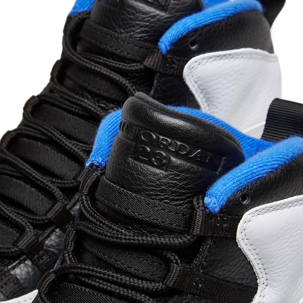 official photos 30d1e 58082 Air Jordan 10 Retro  Orlando  White, Black, Royal   Silver   END.
