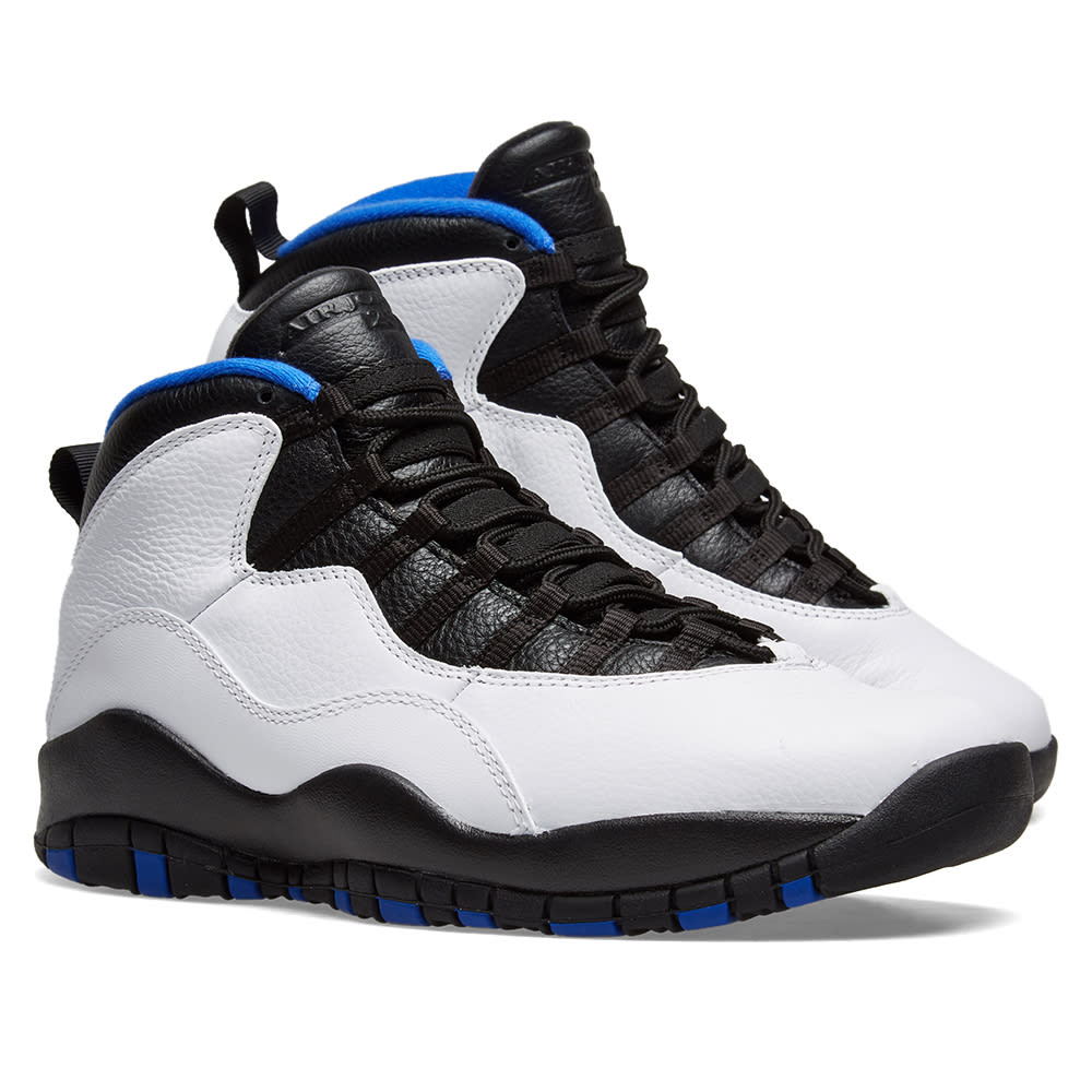 best website 43e28 6d091 Air Jordan 10 Retro  Orlando . White, Black, Royal ...