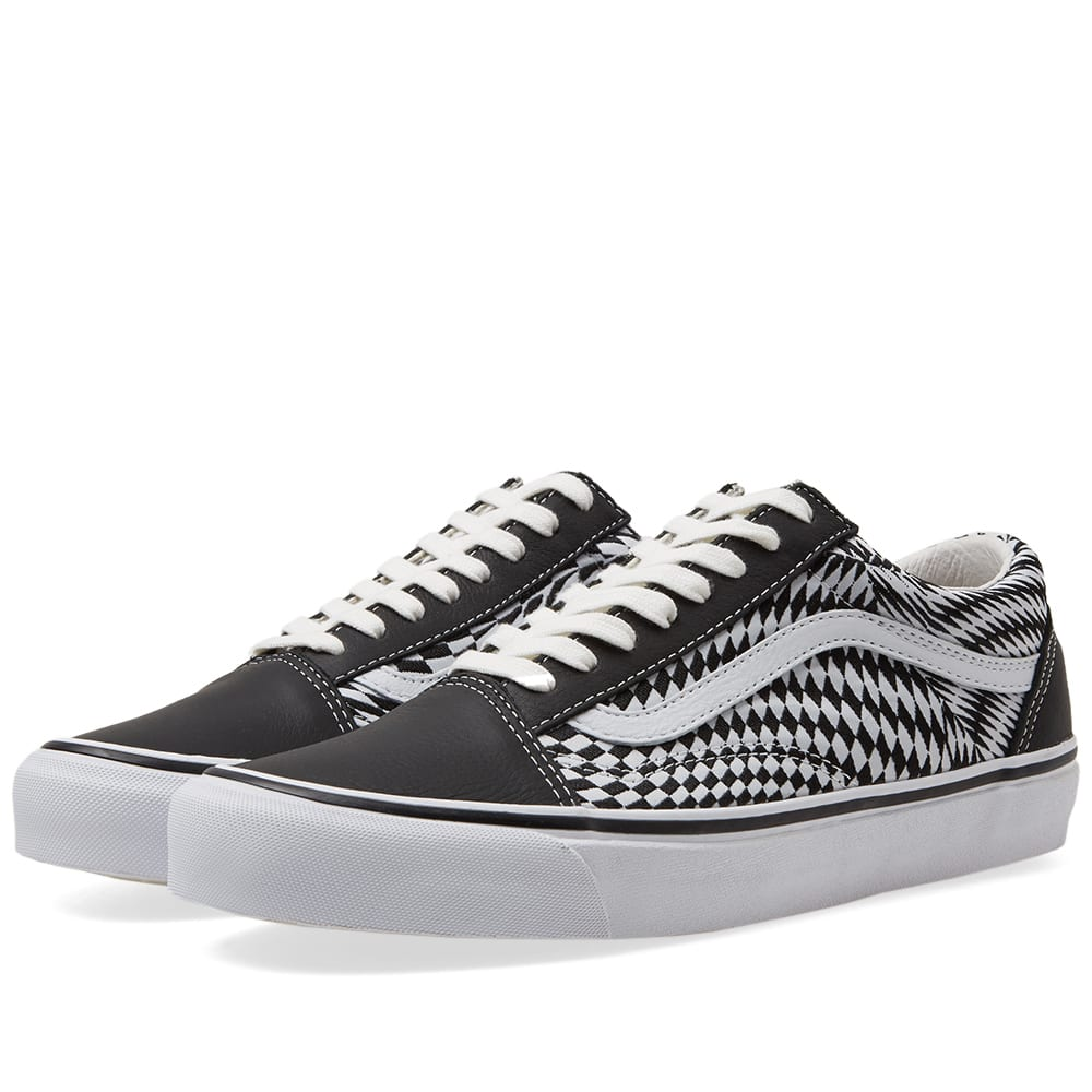 0ad27e1091 END. x Vans OG Old Skool LX  Vertigo  Black   True White