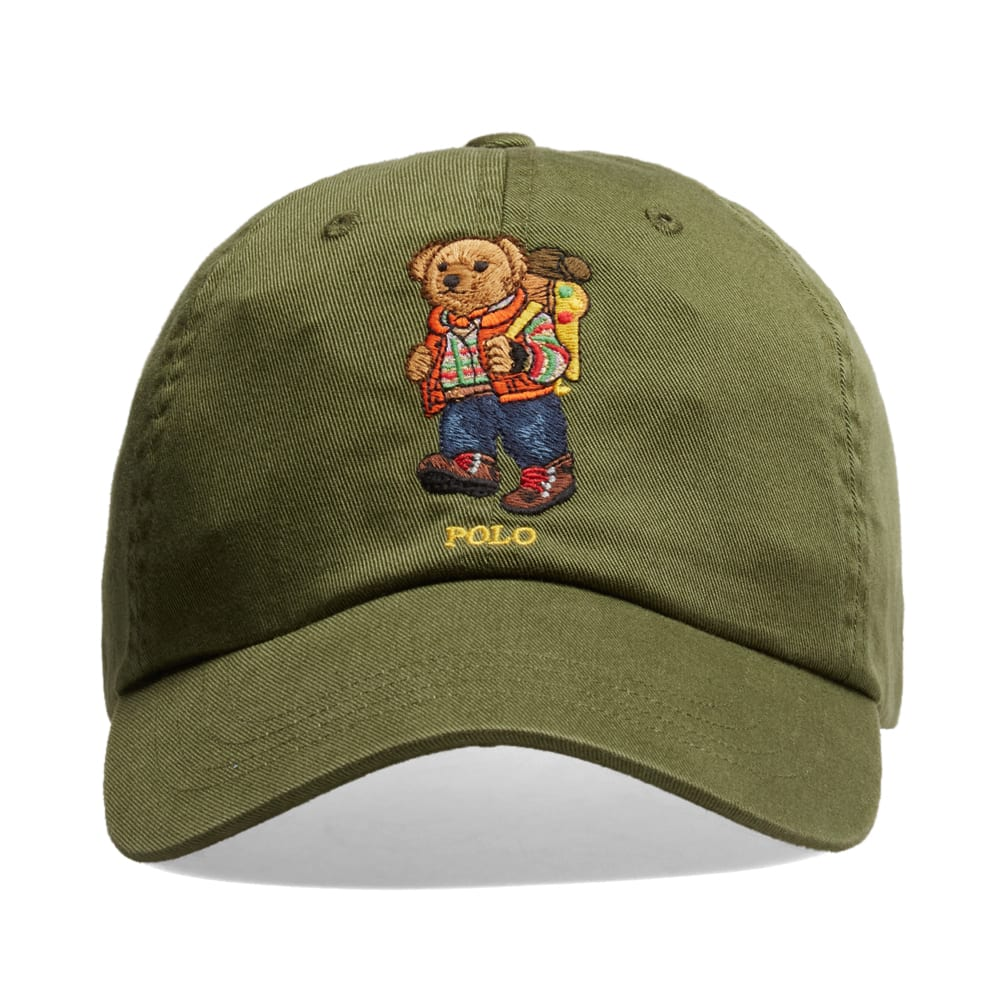 26ba5dd7 Polo Ralph Lauren Hiking Bear Cap. Green