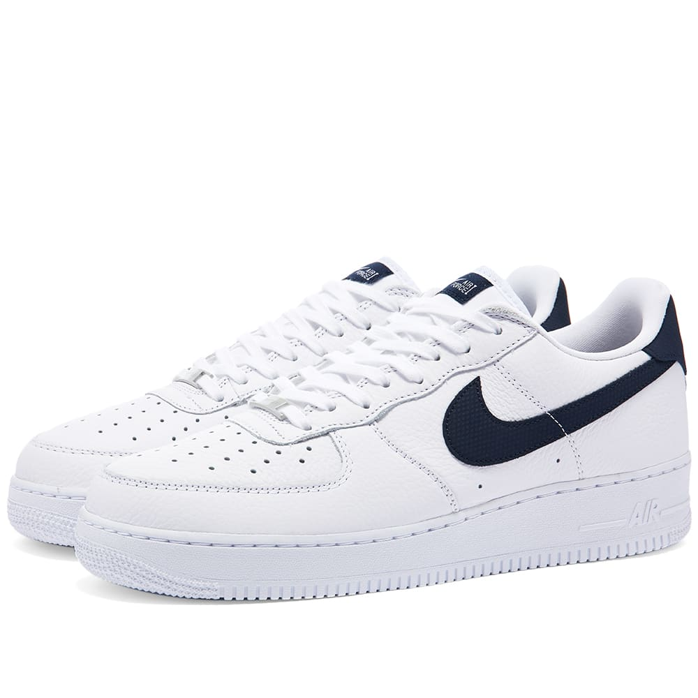 Nike Air Force 1 07 Craft 2 White & Obsidian | END.