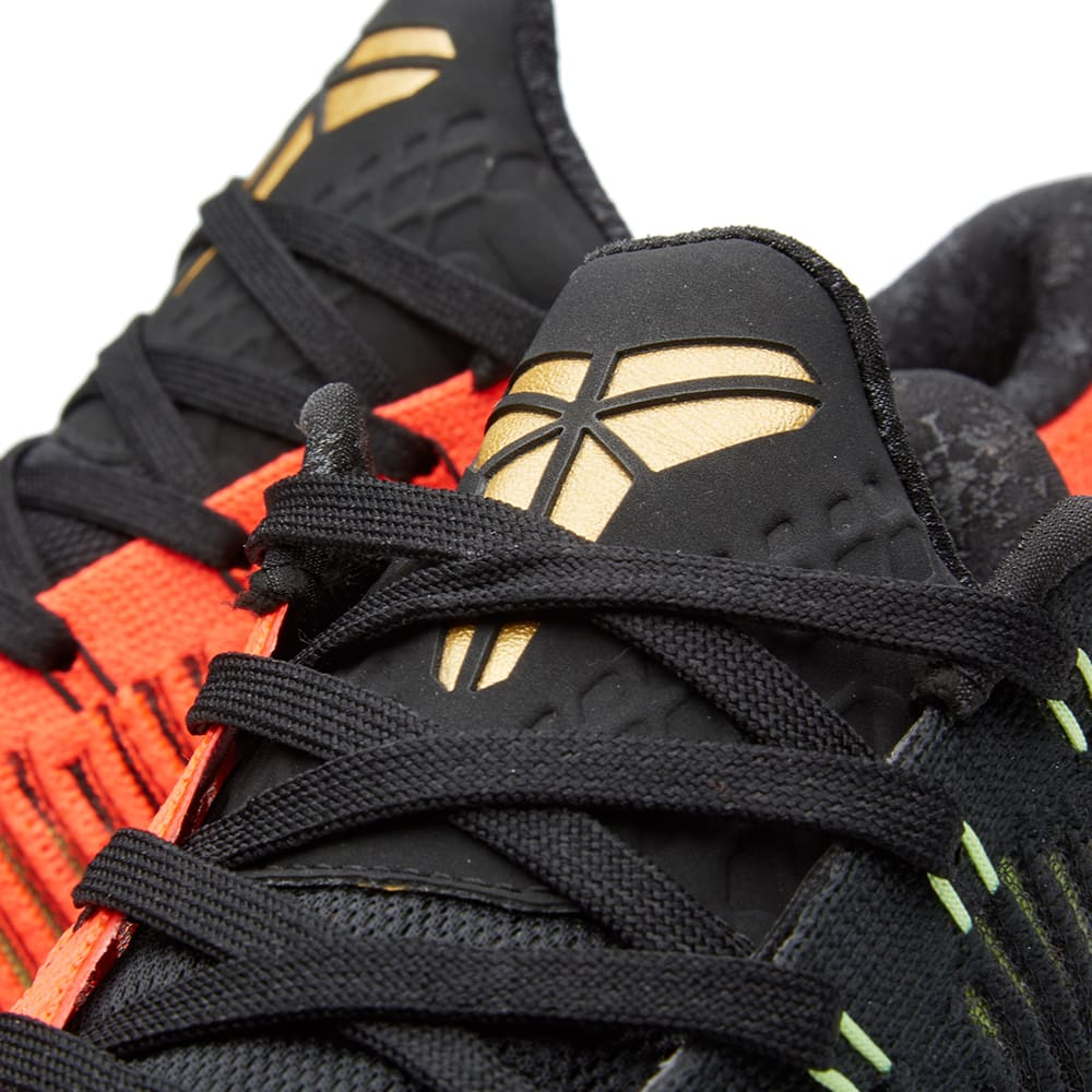 save off e97d2 40ddd Nike Kobe X Elite Low  Christmas . Black   Metallic Gold
