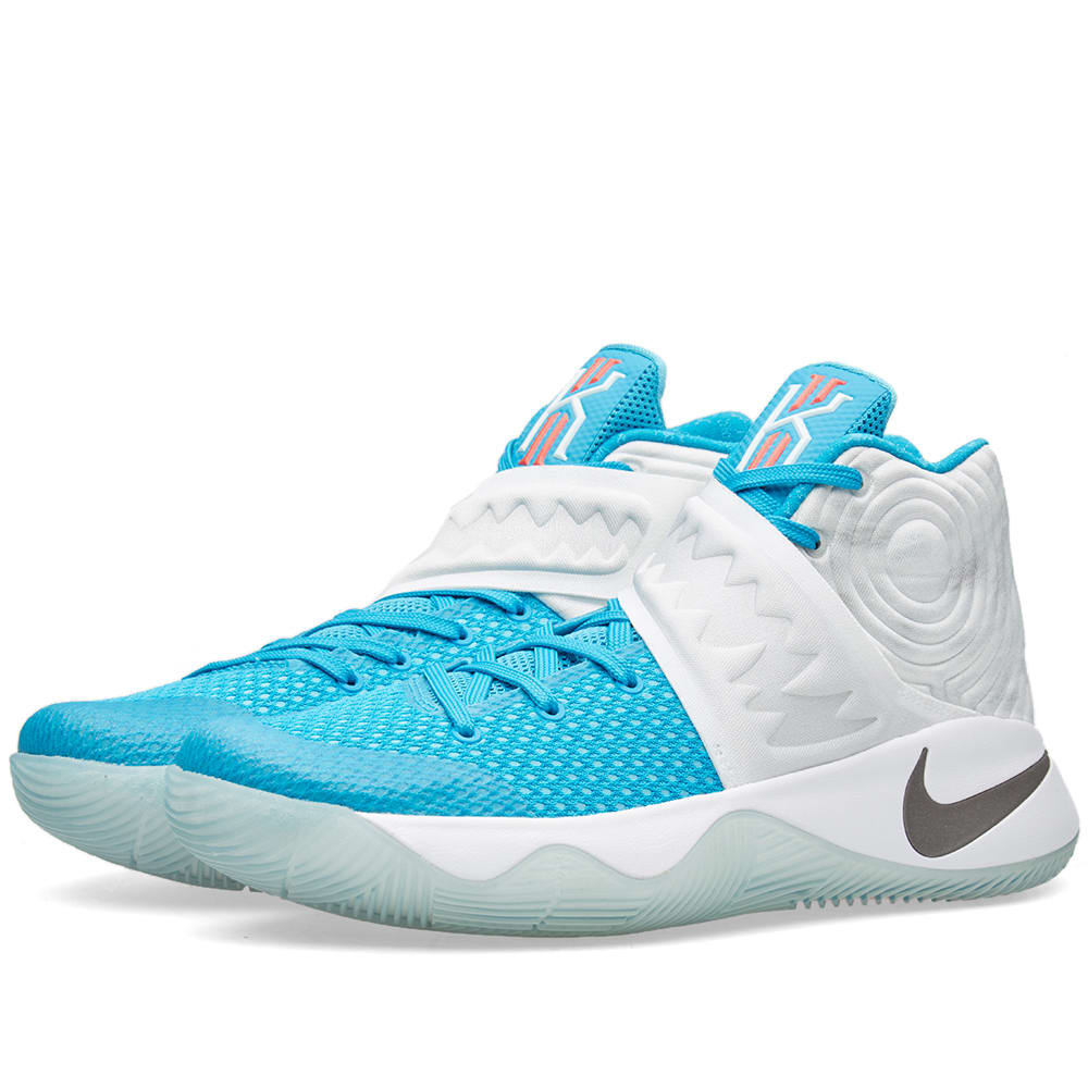 Nike Kyrie 2 'Christmas' (White, Obsidian & Blue Lagoon)