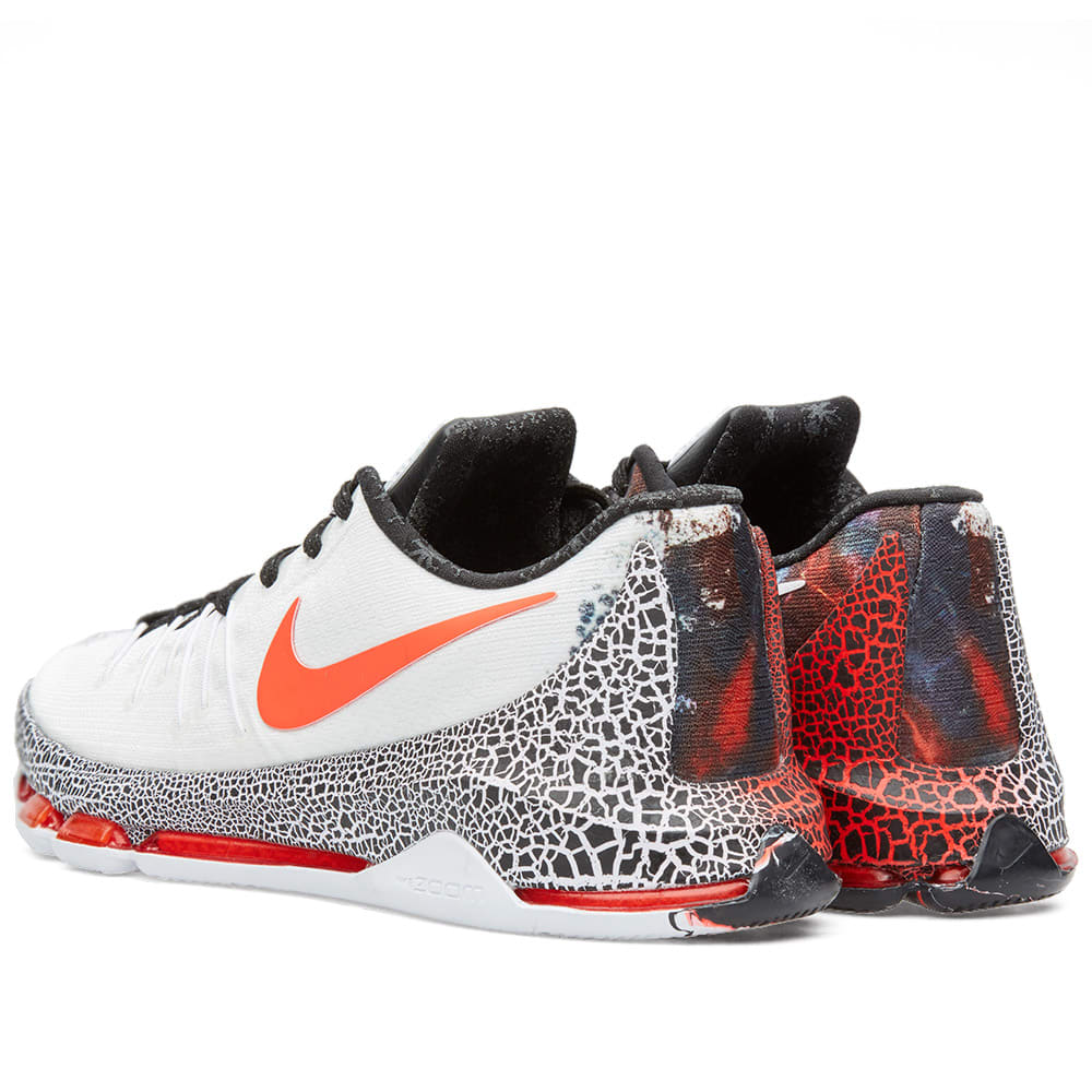 huge selection of f6b1d 8613e Nike KD 8  Christmas  White, Black   Bright Crimson   END.