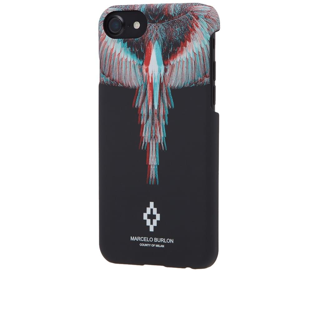 Marcelo Burlon Salvador iPhone 7 Case (Black u0026 Multi)