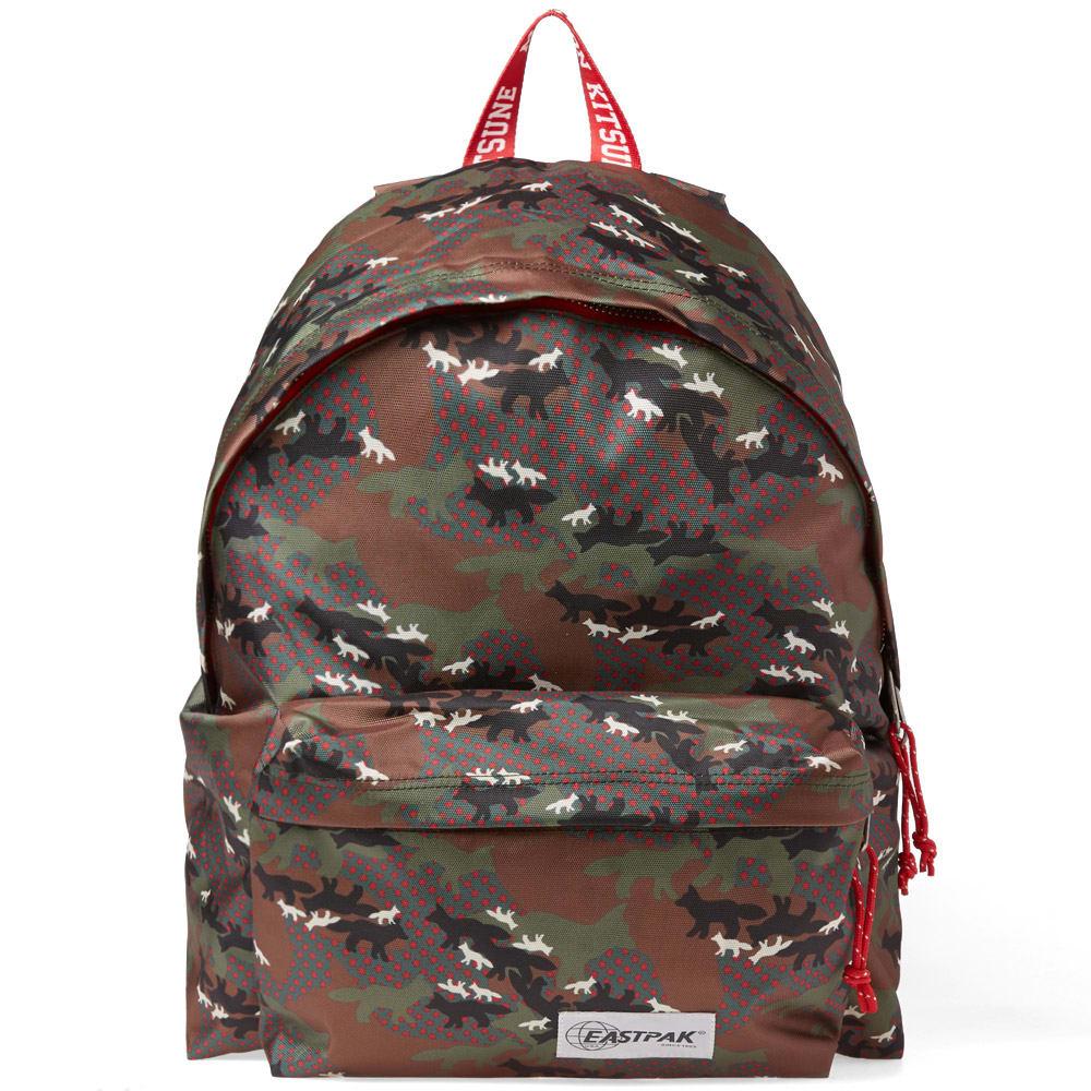 Nieuw Maison Kitsuné x Eastpak Padded PAK'R Backpack Green Camo Print | END. SO-93