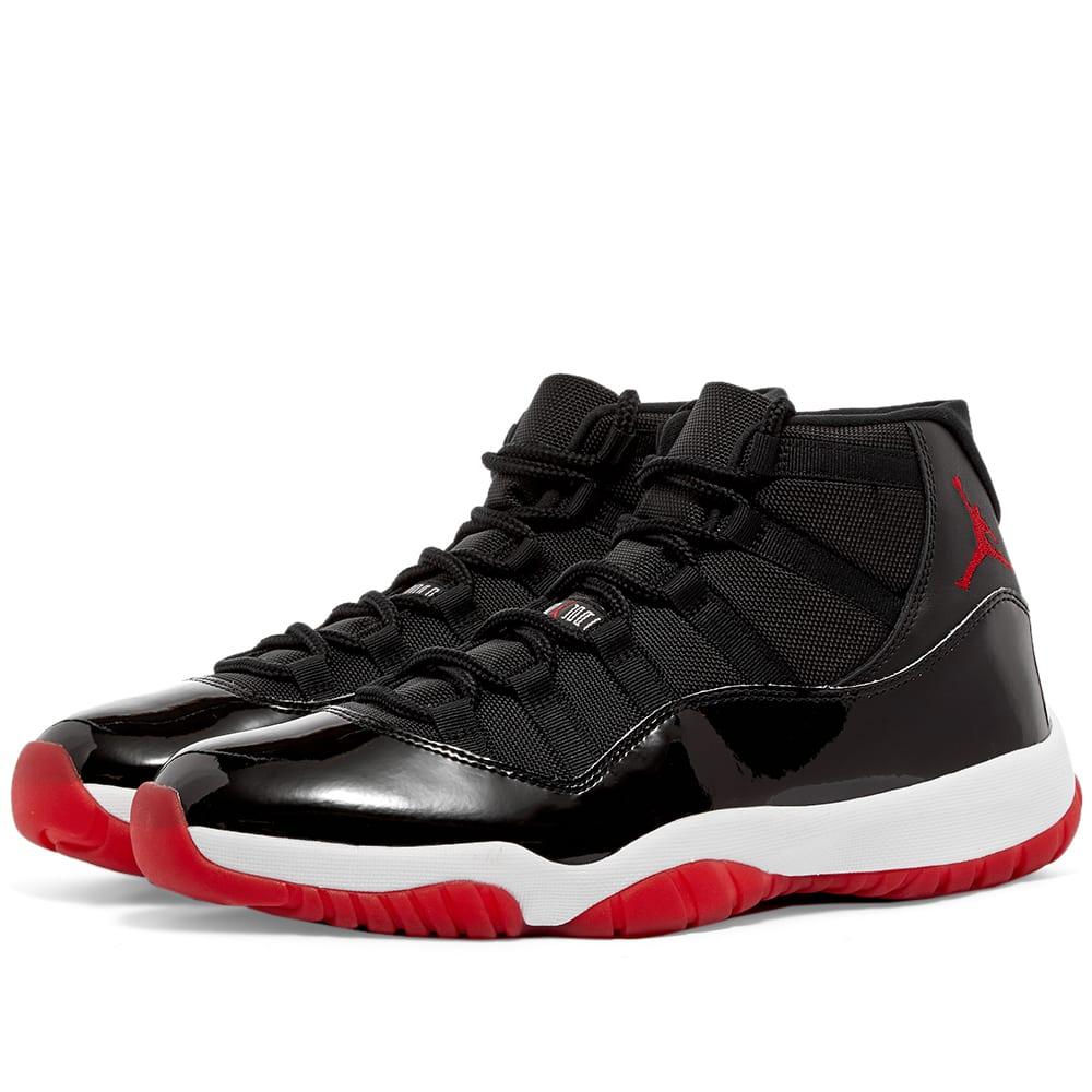 Air Jordan 11 Retro High Black, Varsity