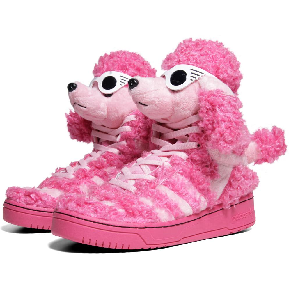 candidato mano Absolutamente  Adidas ObyO x Jeremy Scott Poodle Bloom & Diva | END.