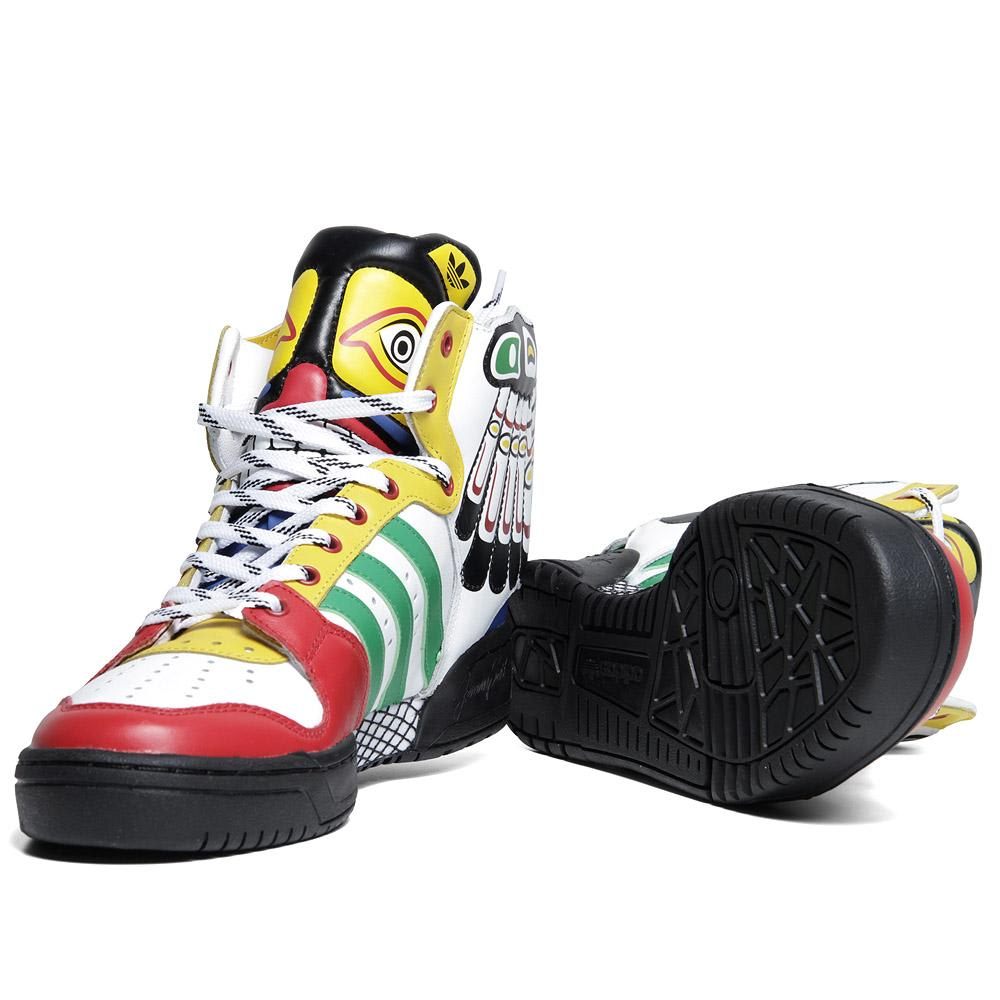 sports shoes da3bb 8e47e Adidas ObyO x Jeremy Scott Eagle Wing 'Totem'