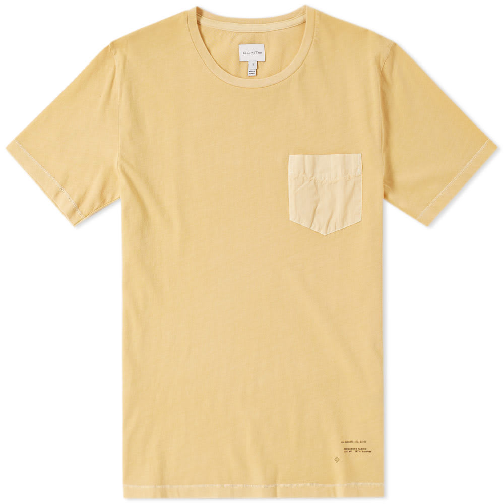 GANT RUGGER GANT POCKET TEE