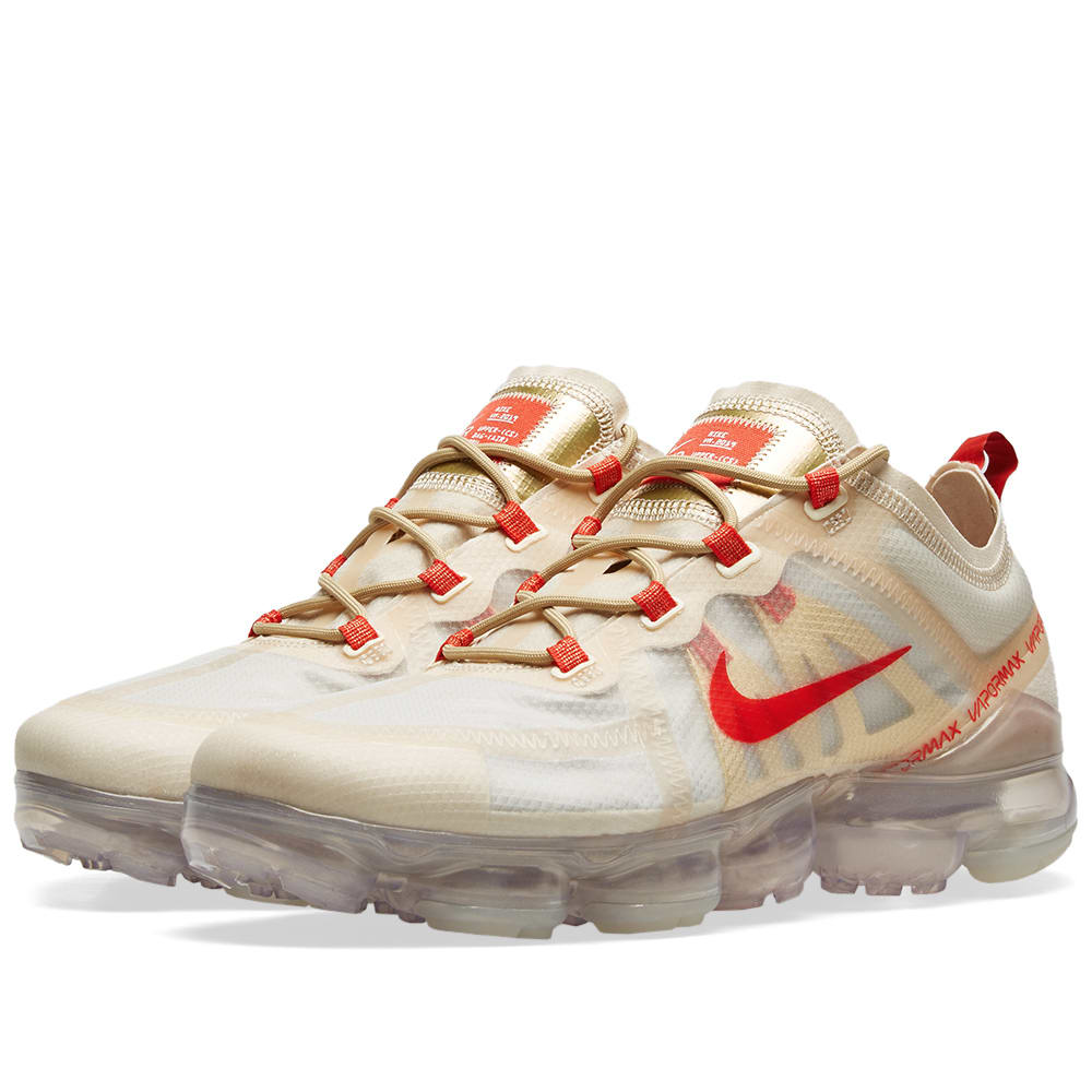 Nike Air Vapormax 2019 Cny Cream Red Gold White End