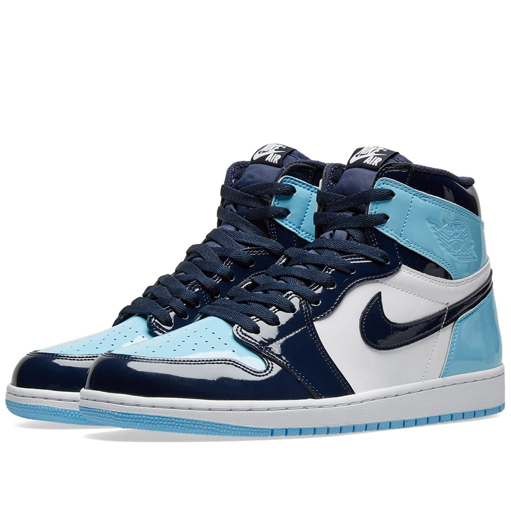Air Jordan 1 Retro High Og W Obsidian Blue Chill White End