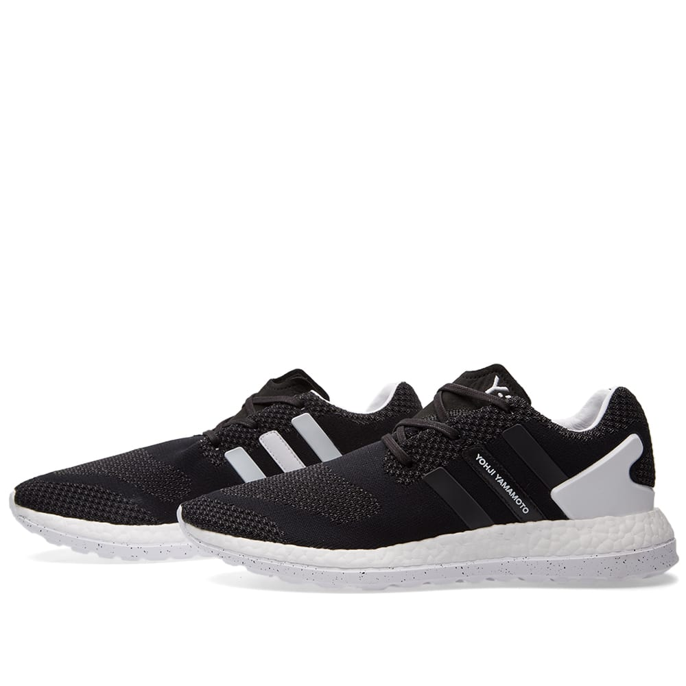 d0774785e3883 Y-3 Pure Boost ZG Knit Black