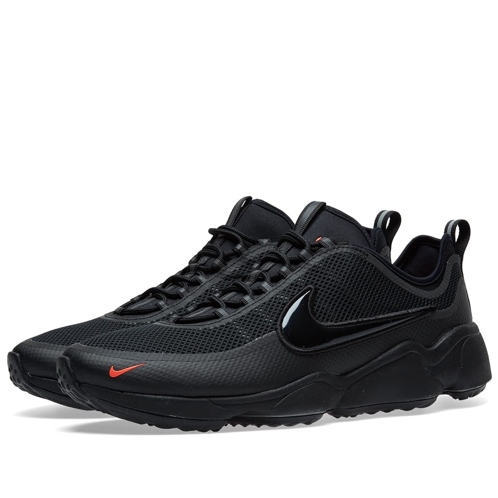 2fe9815e9139e Nike Air Zoom Spiridon Ultra Black   Bright Crimson