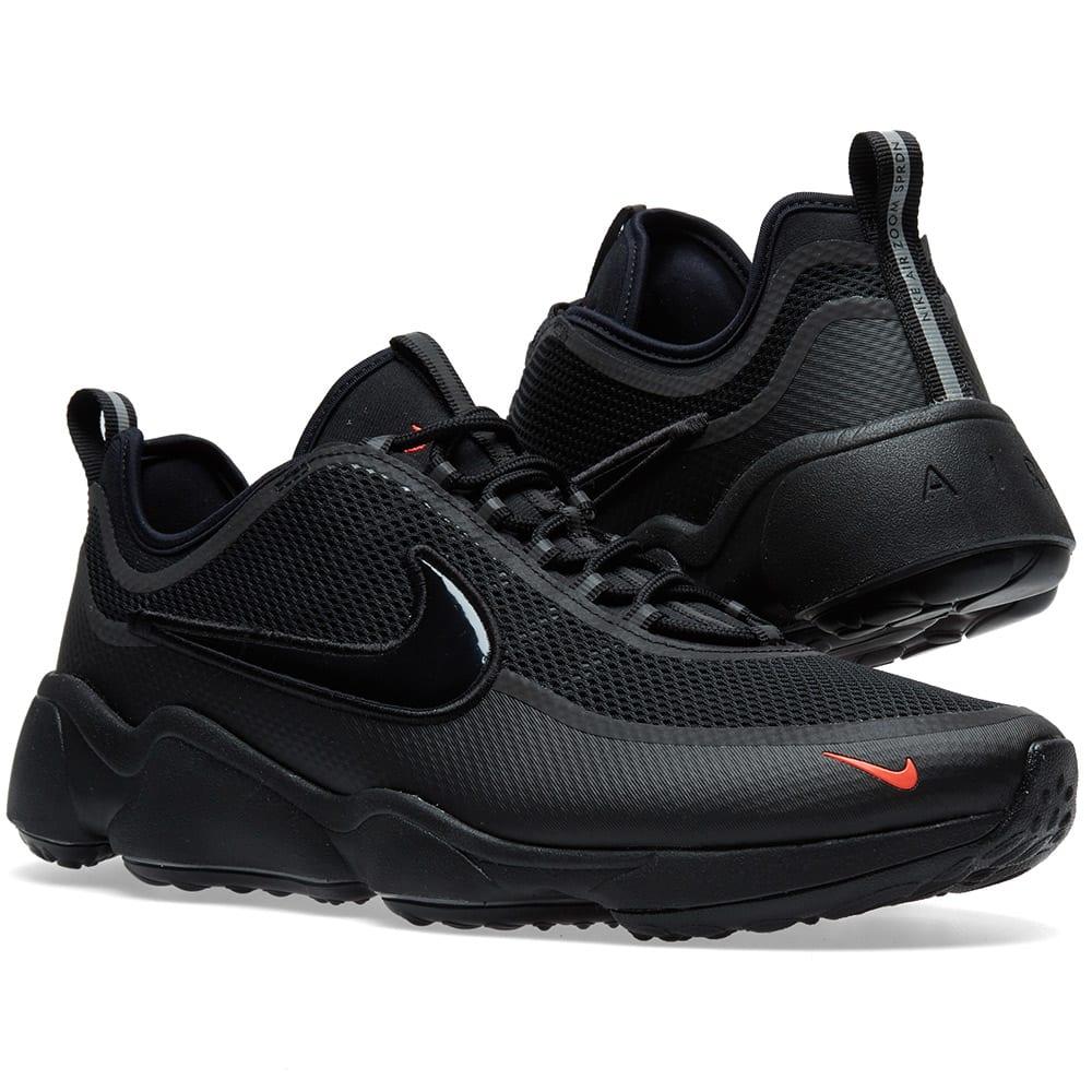 ea798026046d Nike Air Zoom Spiridon Ultra Black   Bright Crimson