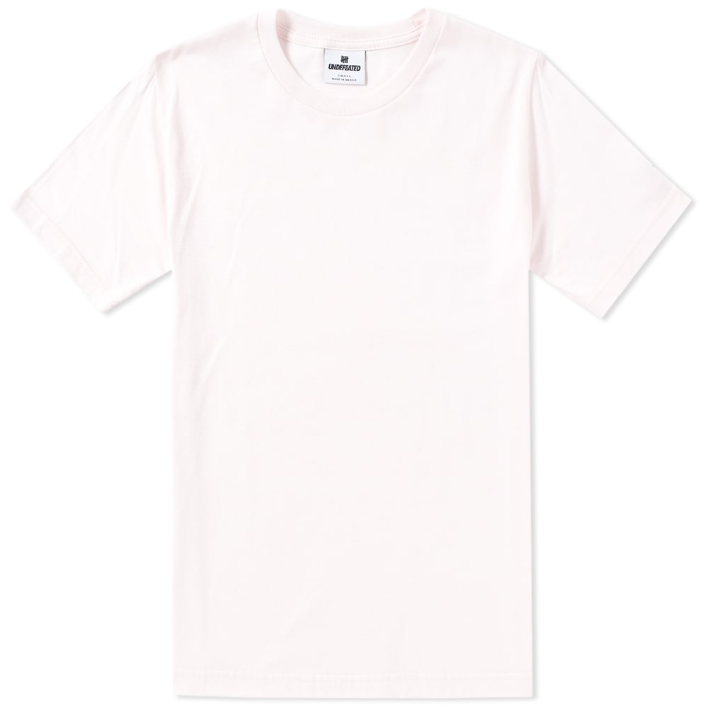 310fdd9f882 Undefeated Felt Patch Strike Tee Pink | END.
