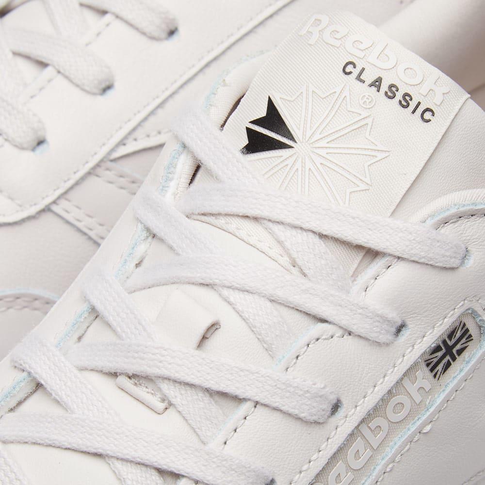 e2a1e19a60e Reebok Classic Leather x FACE Stockholm W Misty Purple   White