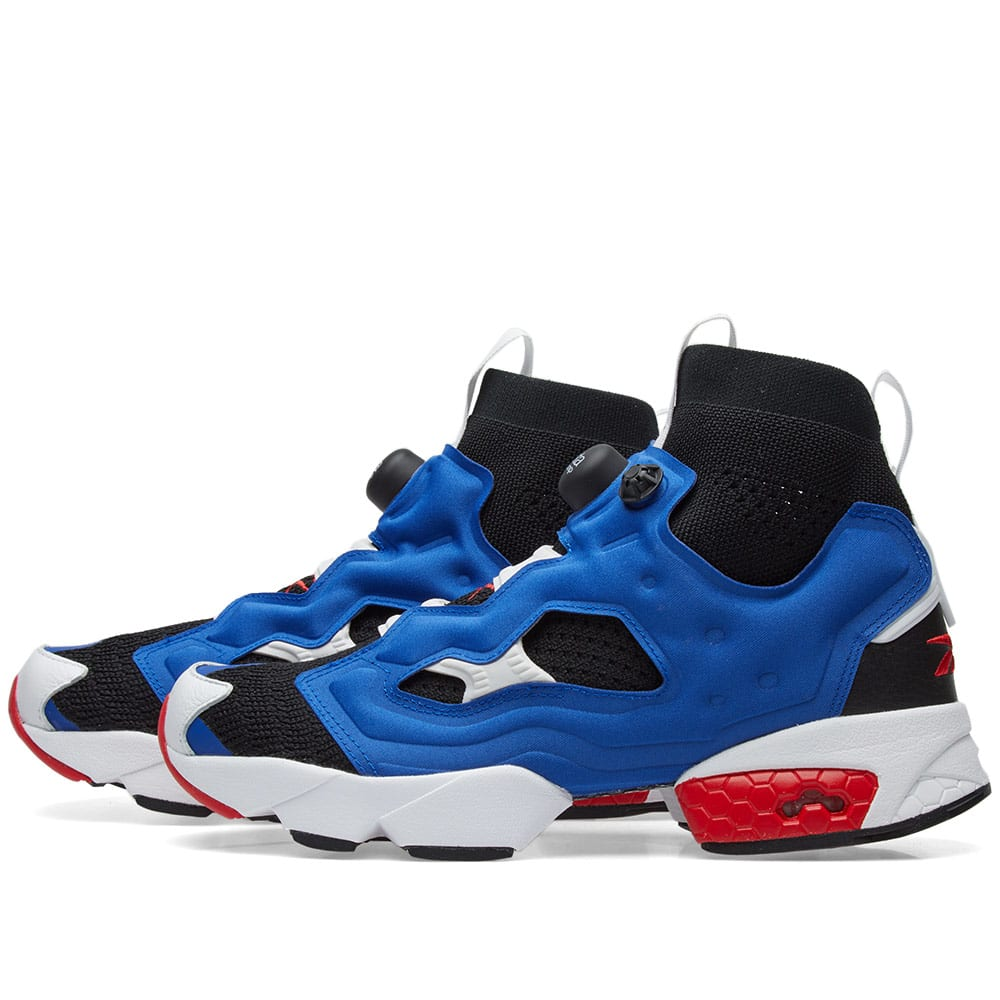cheap for discount 2c77b 0700e Reebok Instapump Fury OG Black, Royal   Red   END.