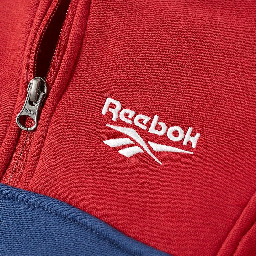 dostępny fabrycznie autentyczne ograniczona guantity Reebok Half Zip Fleece