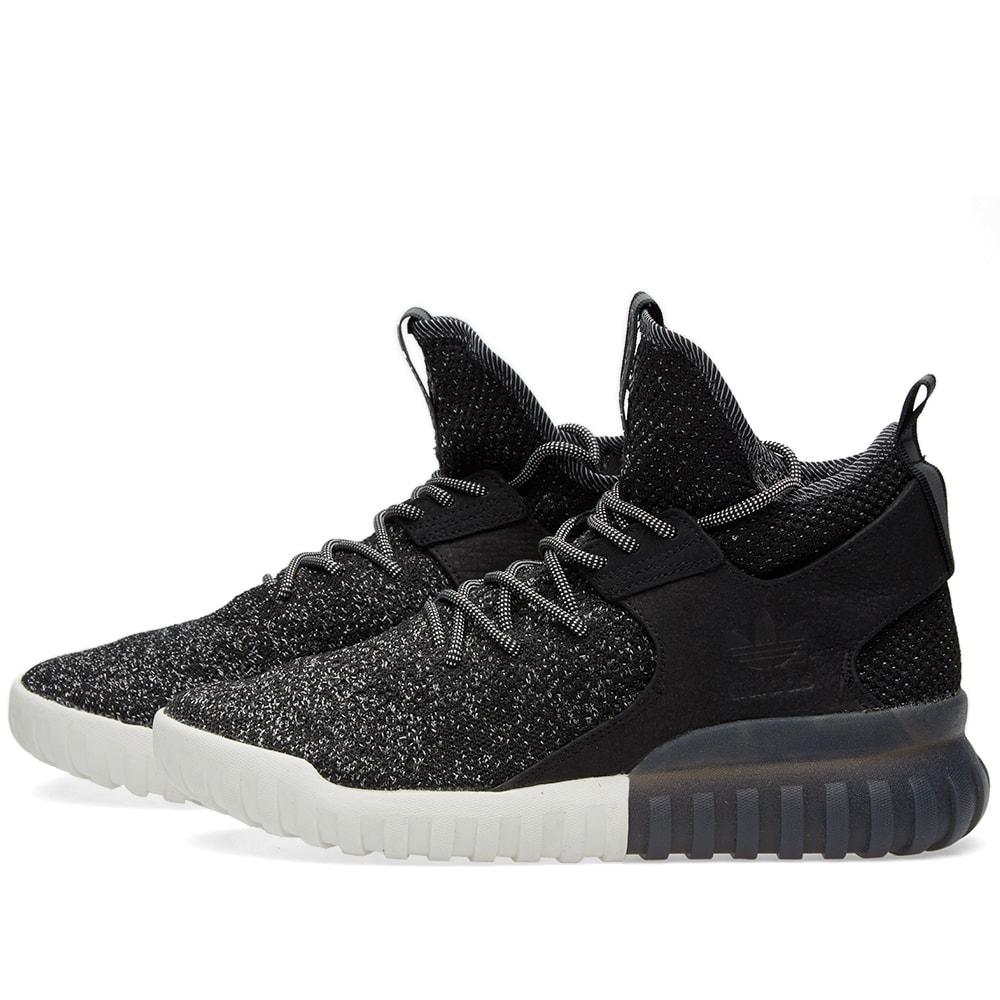 adidas tubular x 39 all star weekend 39 black white. Black Bedroom Furniture Sets. Home Design Ideas