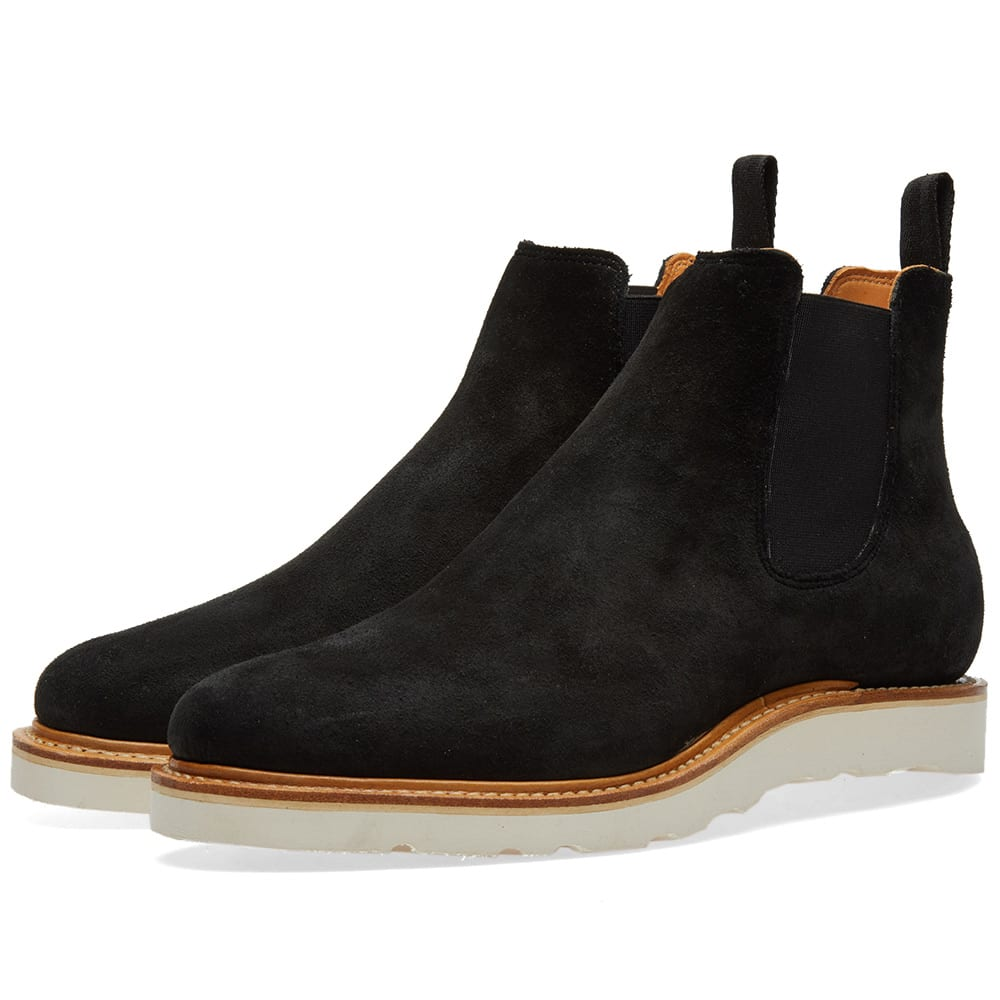 VIBERG Viberg Chelsea Boot in Black